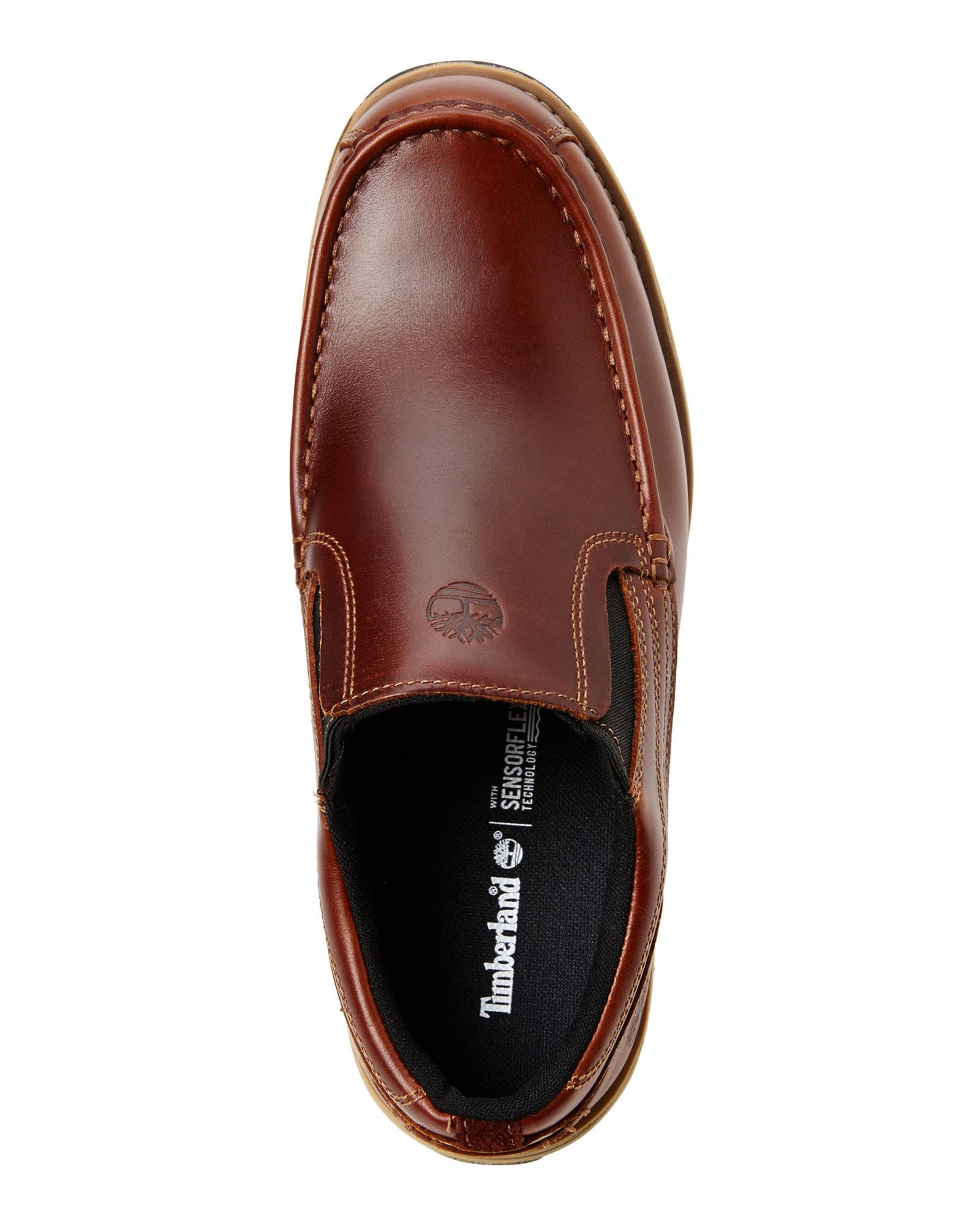 reducerat pris halva priset olika färger Timberland Whiskey Heston Slip-On Shoes in Brown for Men - Lyst