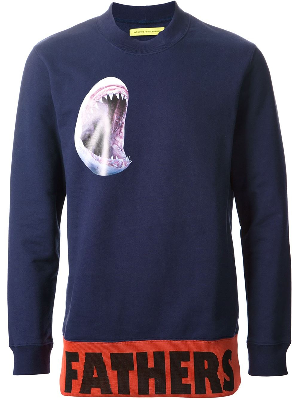 Raf Simons Father Sweatshirt in Blue for Men