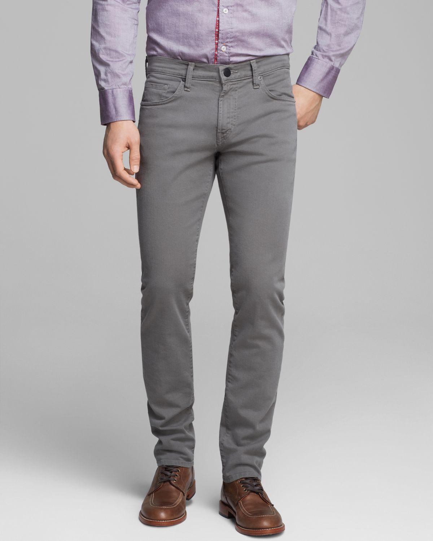 b4bca8e54bbae Lyst - J Brand Tyler Slim Fit in Lunar Grey in Gray for Men