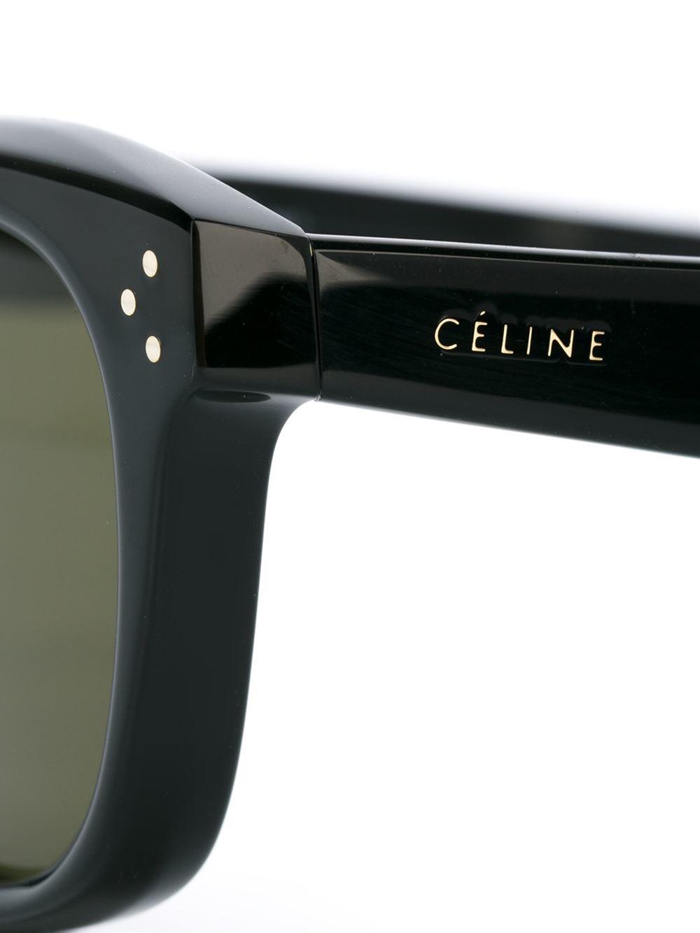a3d46d3090d Celine Black Round Frame Sunglasses