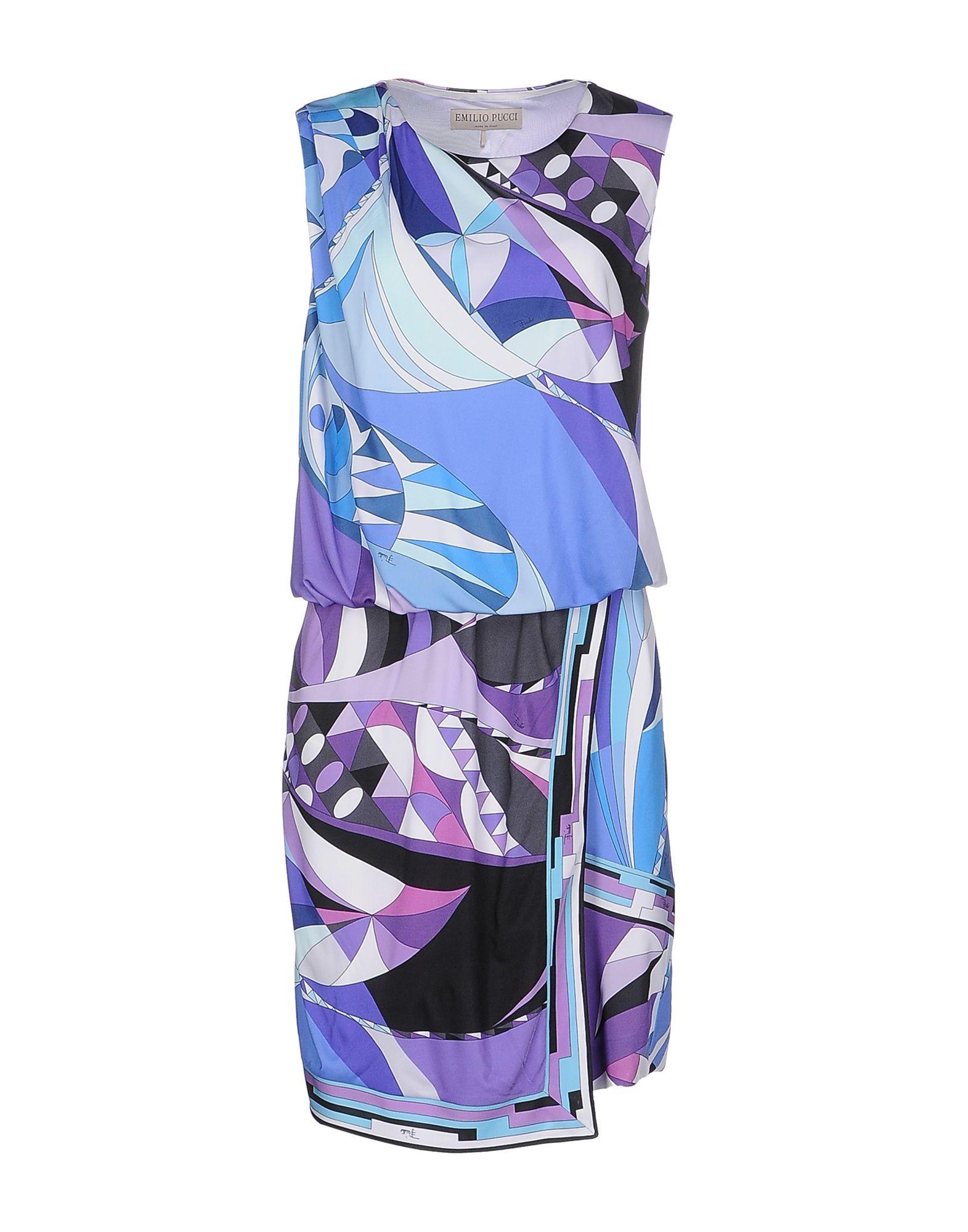 Emilio pucci Short Dress in Purple