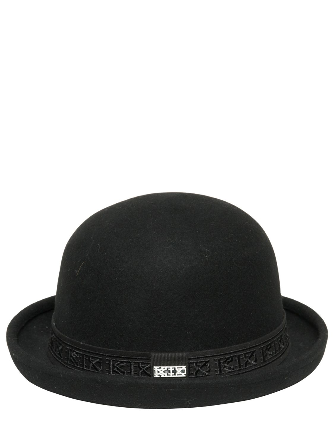 ac6e78458f596d Origami Bowler HatMove Vine Leather Bowler Hat In Brown Lyst