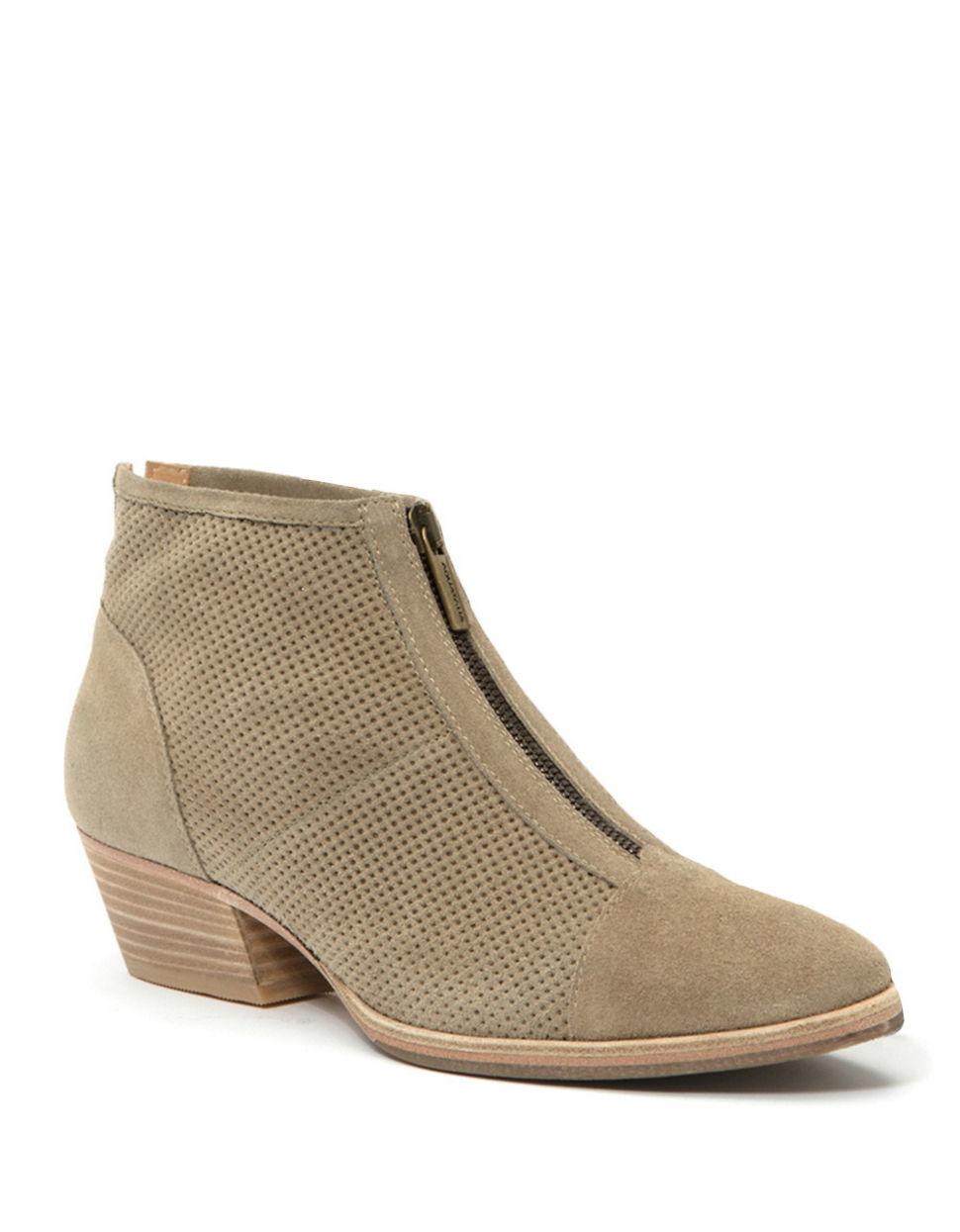 aquatalia fernanda leather ankle boots in lyst