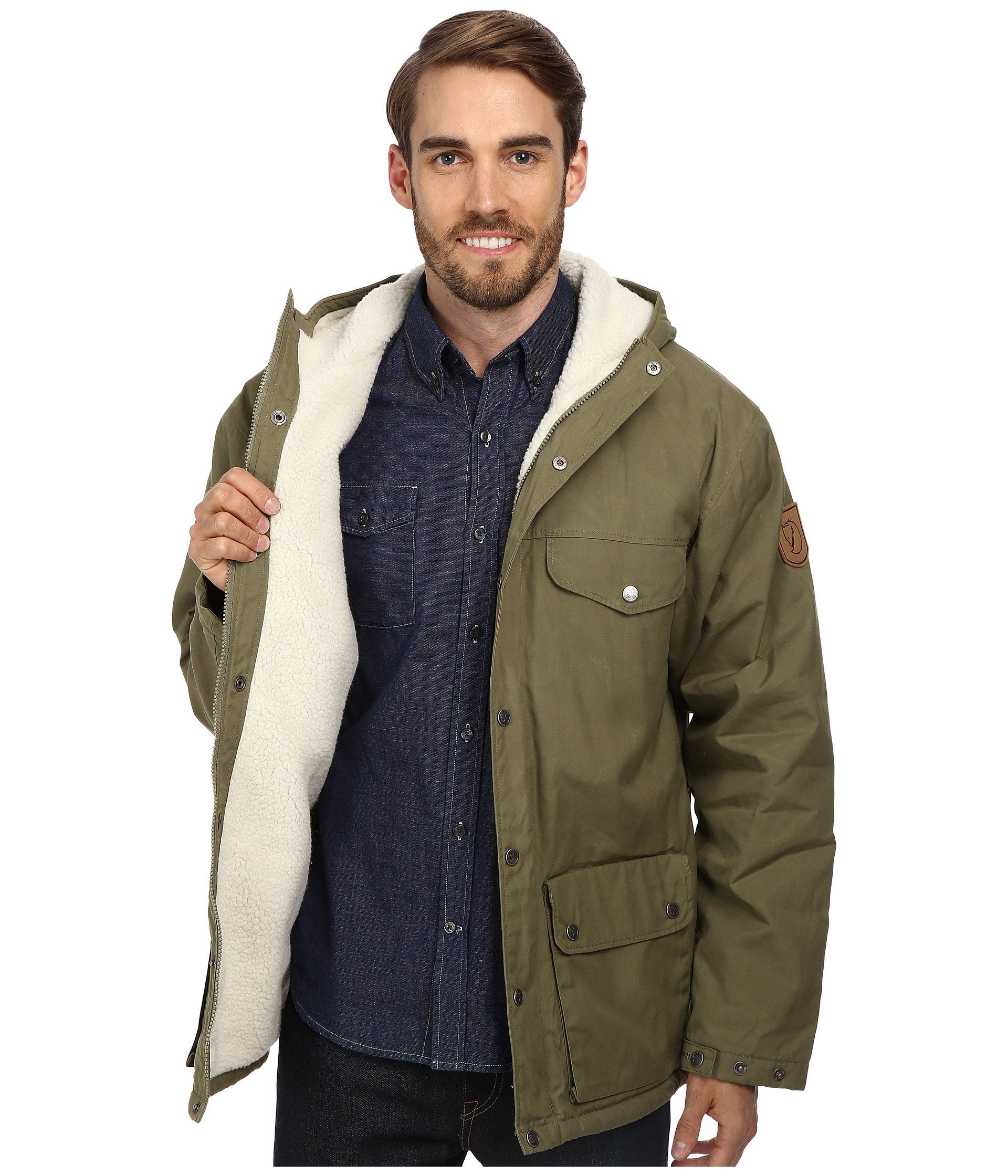 Lyst Fjallraven Greenland Winter Jacket In Green For Men