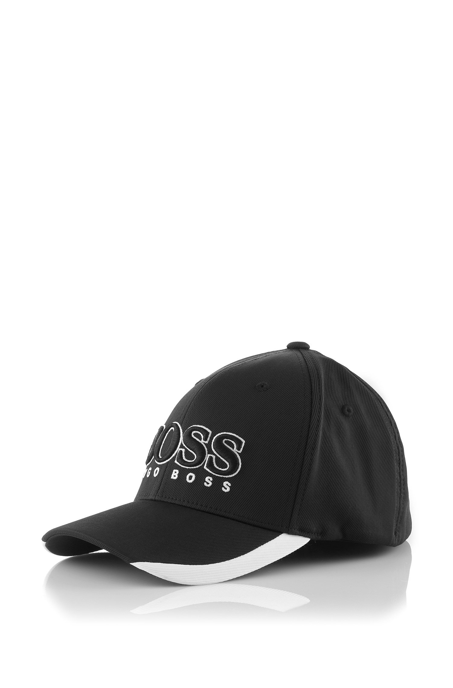 cc0ef27a BOSS Green Cap Catch with Flexfit Band in Black for Men - Lyst