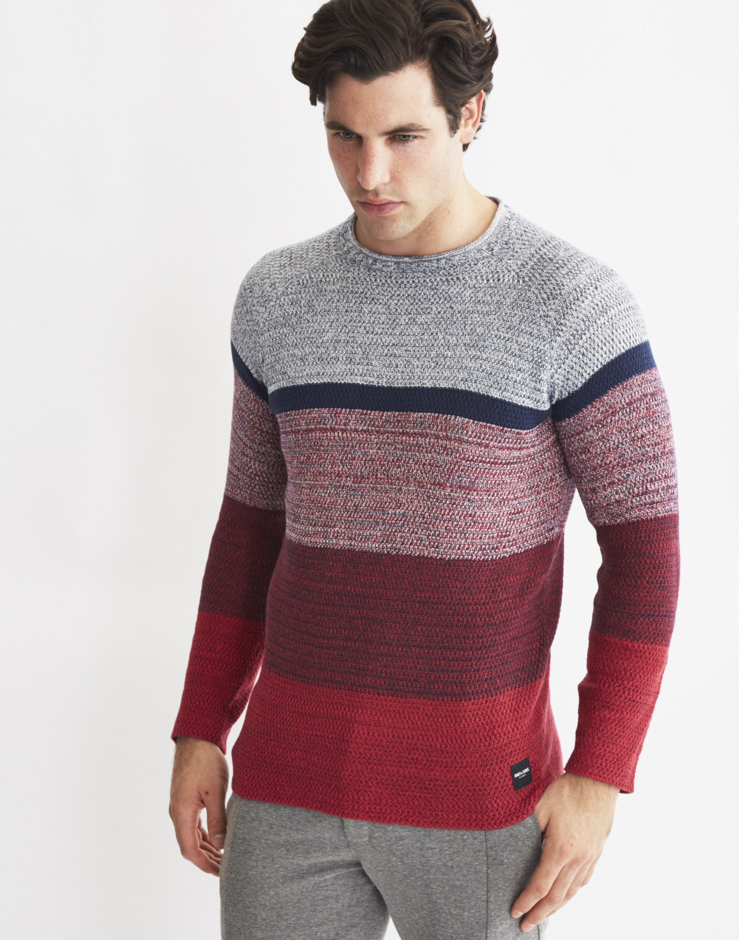 Only & sons Mens Knitted Pullover Jumper Multi for Men | Lyst