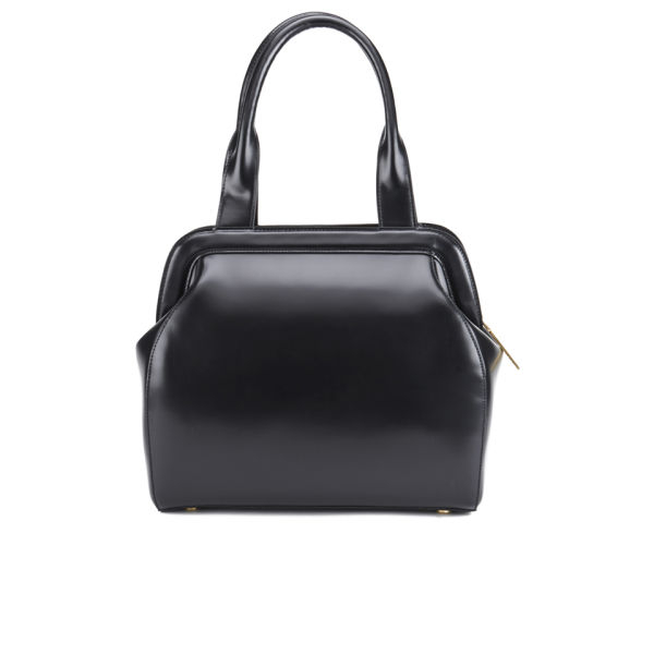 Lulu Guinness Women'S Large Paula Tote Bag in Gold (Black)