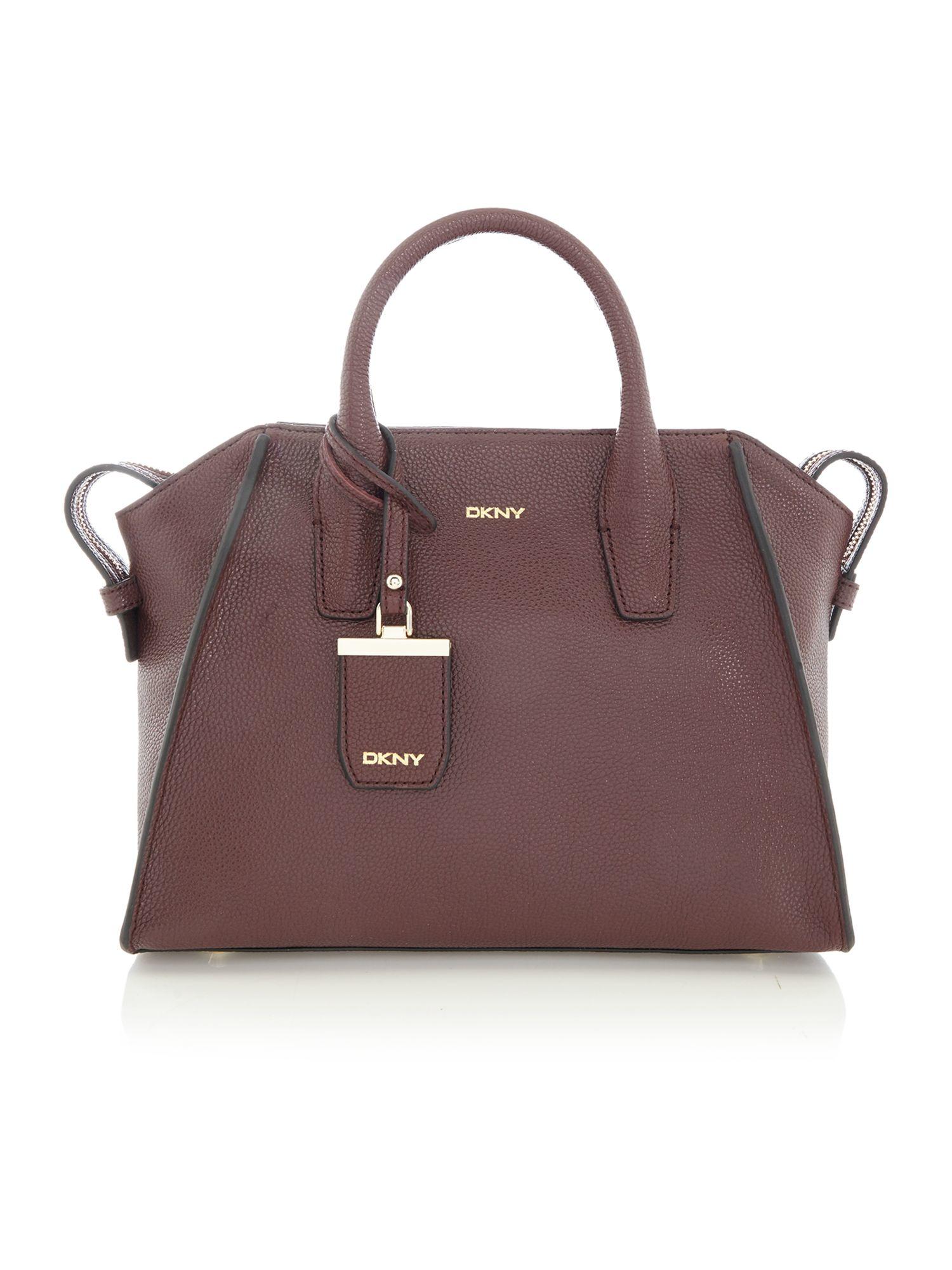 Dkny Chelsea Vintage Burgundy Medium Satchel Bag in Purple | Lyst