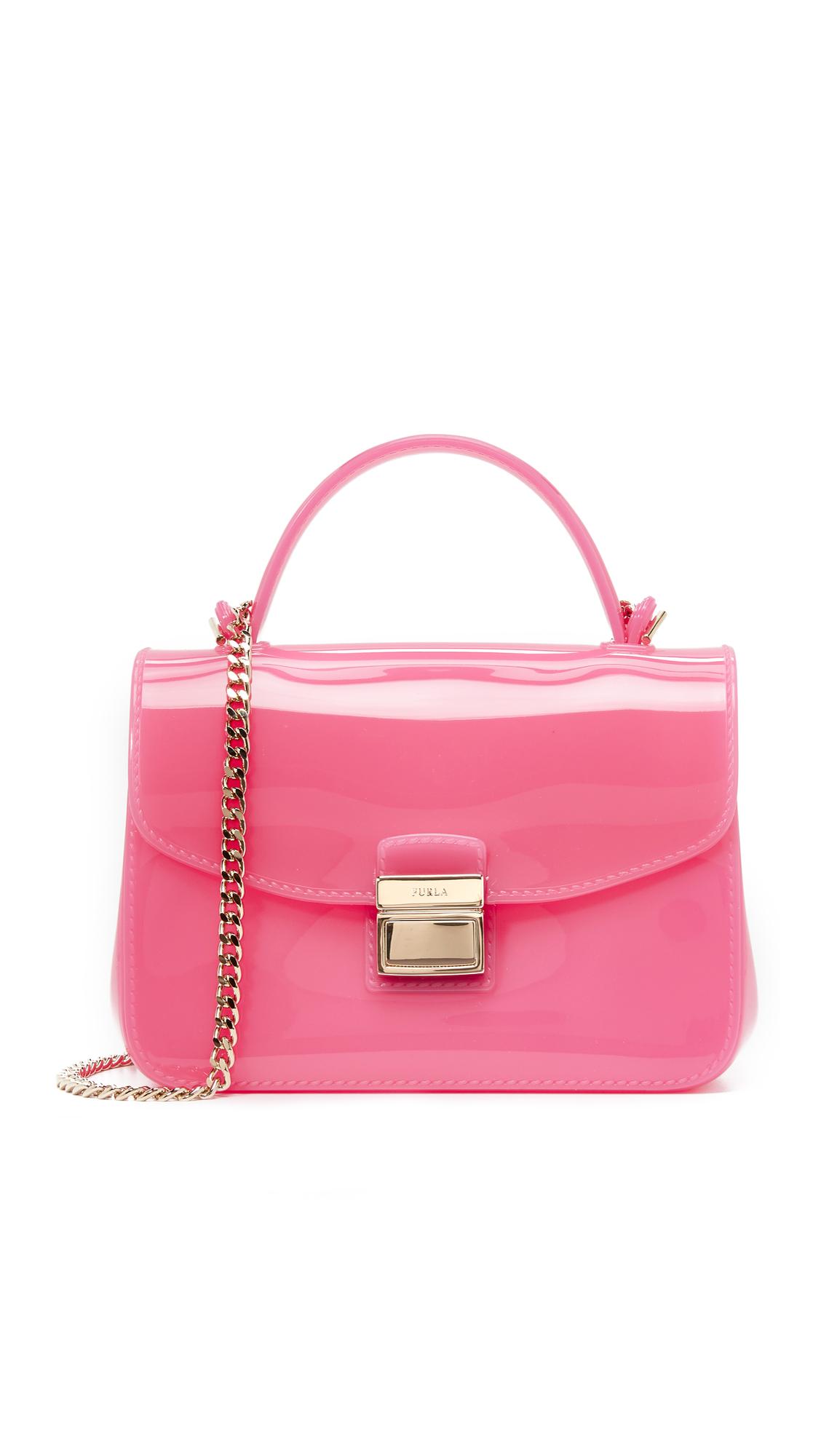 Furla Candy Metropolis Mini Cross Body Bag in Pink