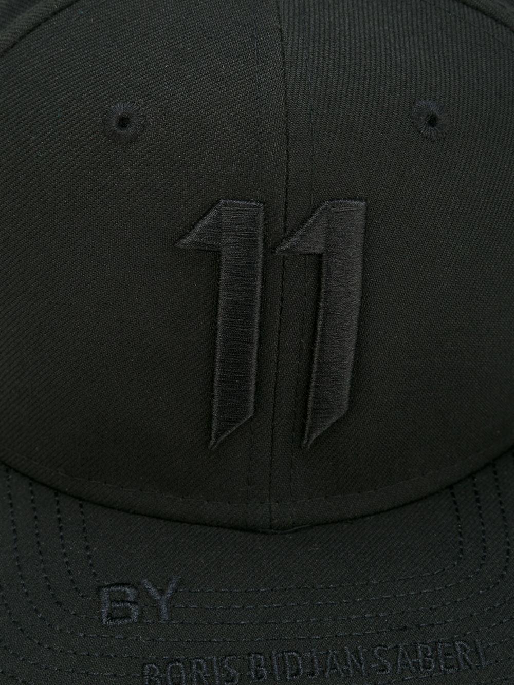 Lyst - Boris Bidjan Saberi 11 Embroidered 11 Cap in Black for Men f0c7527f15dd