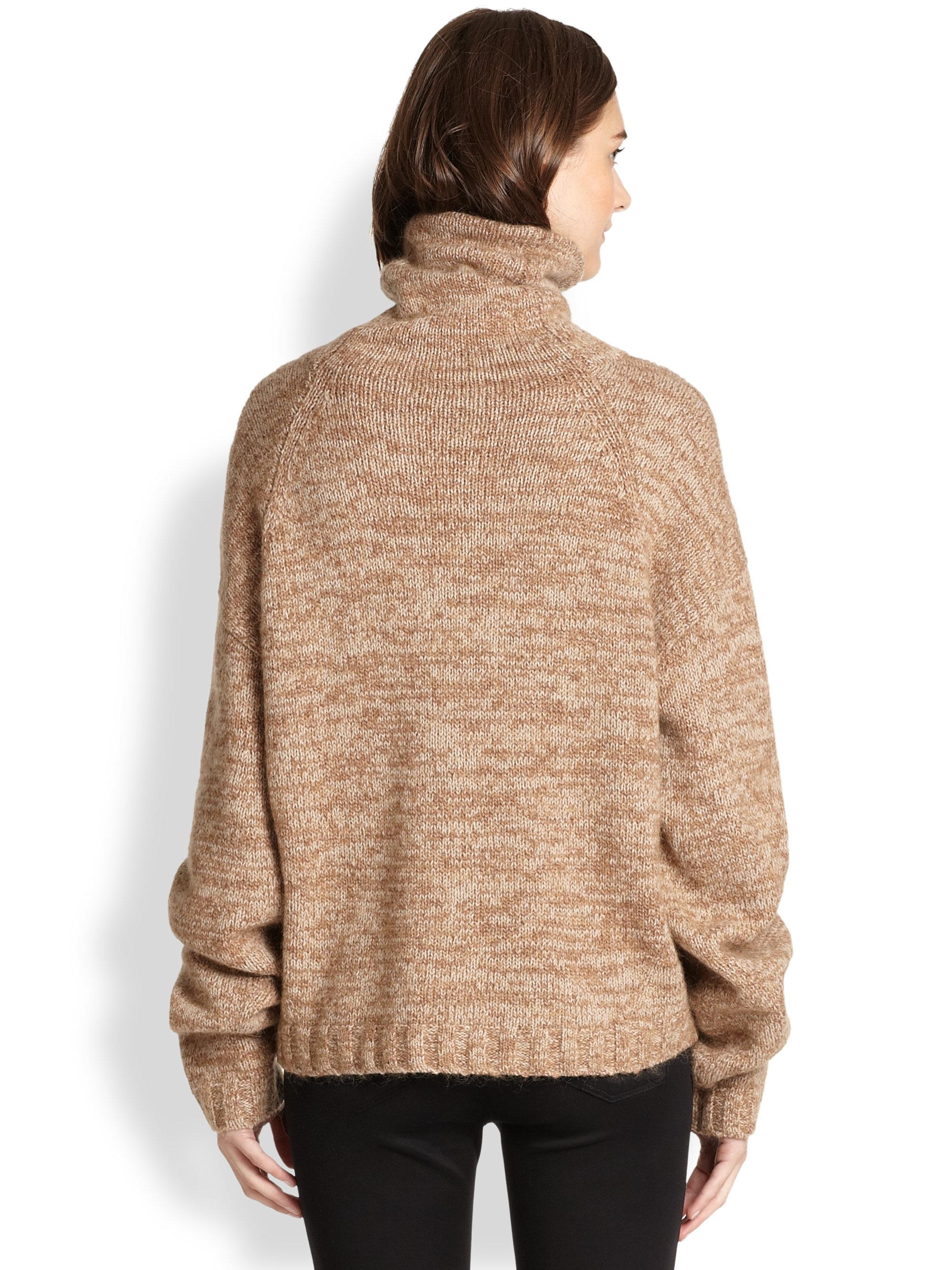 Lyst Acne Studios Dedicate Oversized Marled Wool