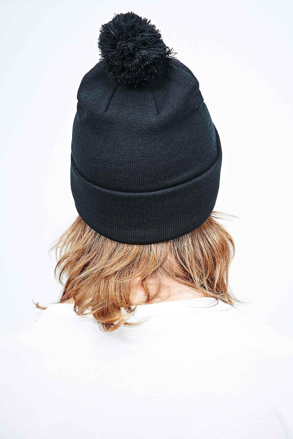 ... buy cheap Stussy 8 Ball Bobble Hat in Black for Men - Lyst 545e8 b40e5  ... f6f355917652