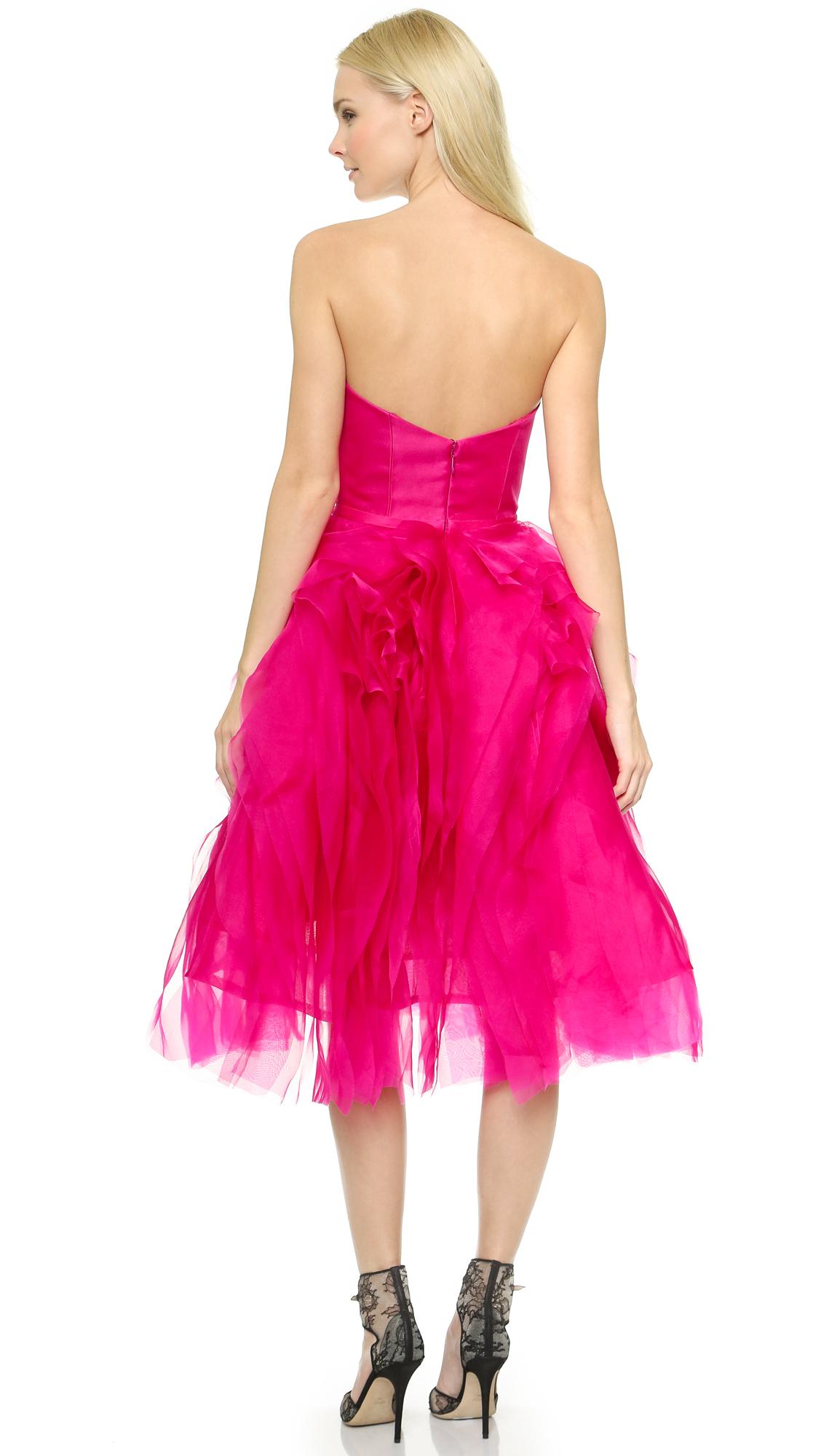Lujoso Monique Lhuillier Vestidos De Baile Ornamento - Colección de ...