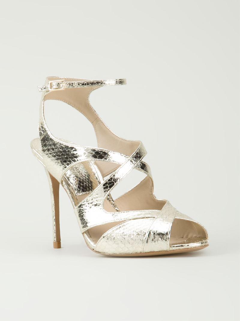 Kors By Michael Kors 'Cordelia' Sandals in Gold (metallic ...
