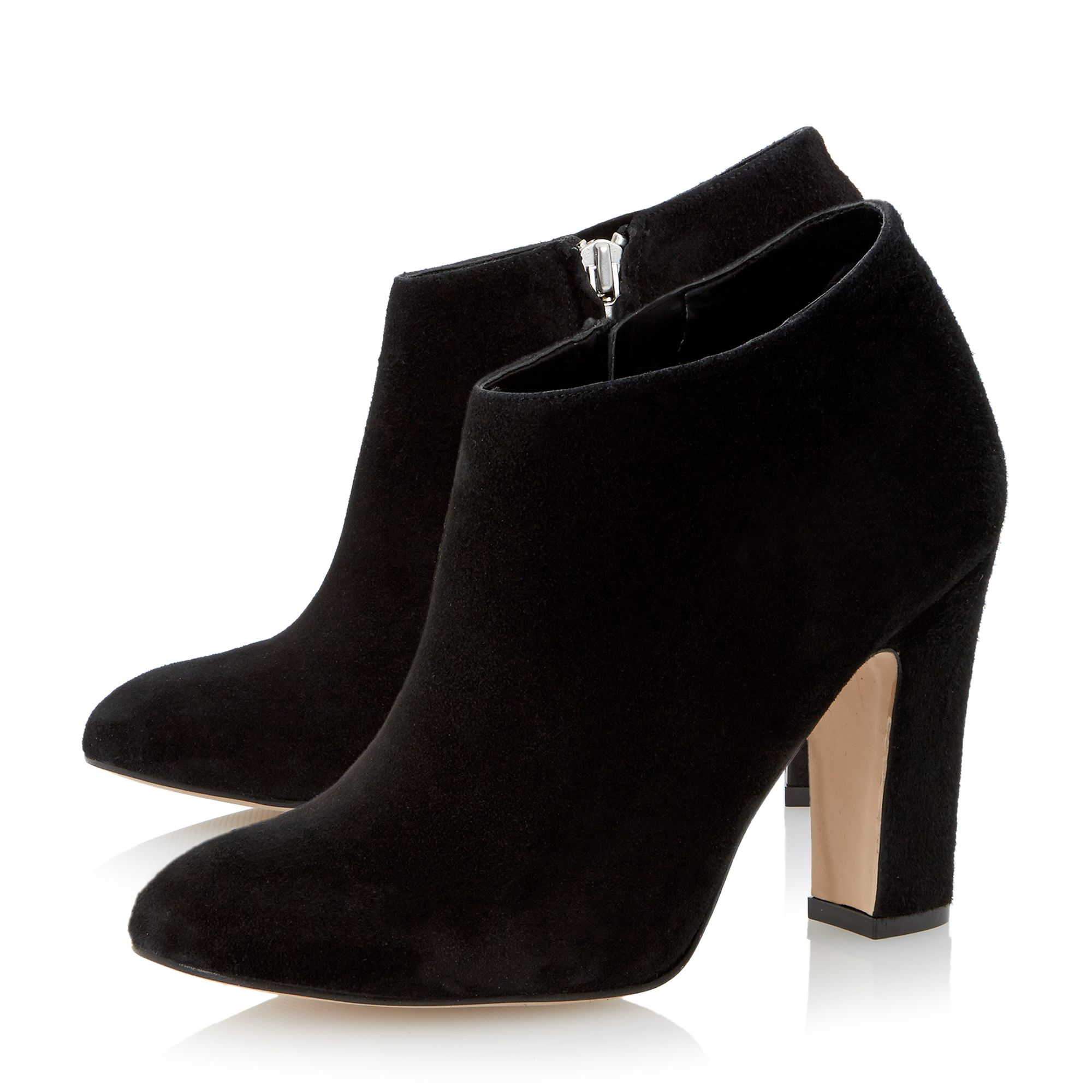 Dune Olyvia Dressy Heeled Ankle Boot in Black | Lyst