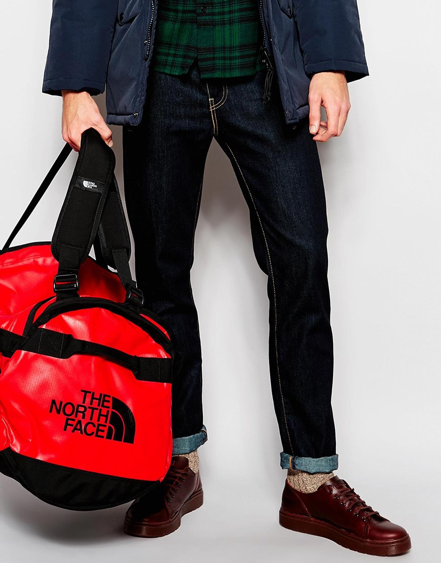 Lyst - The North Face Base Camp Duffle Bag In Large in Red for Men 3cf8cc425e8b