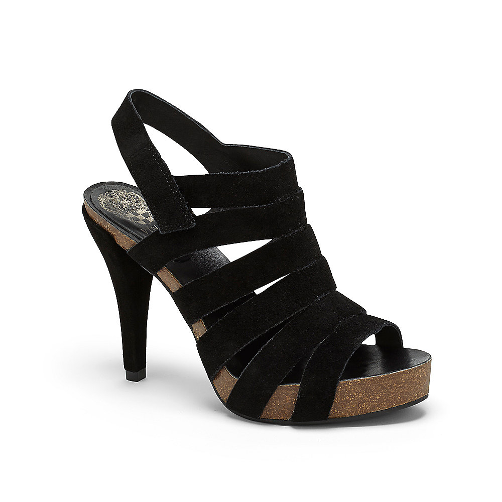 Vince Camuto Pruell Strappy Cork Platform Sandal In