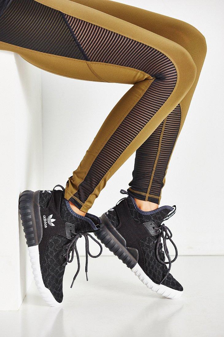 adidas Tubular X Primeknit Sneaker in Black