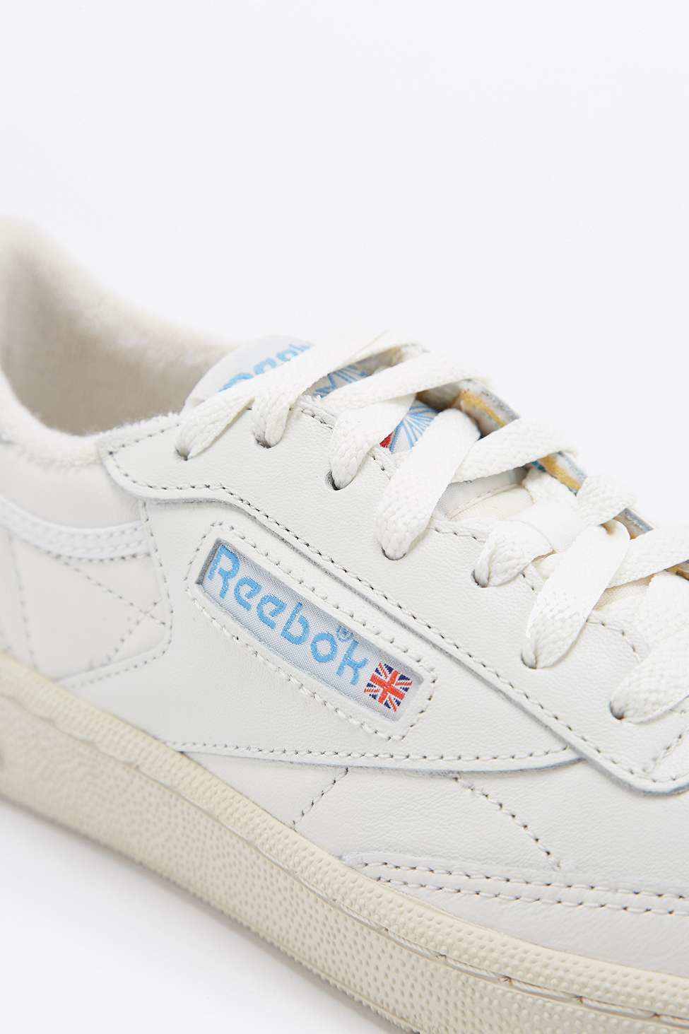 2eda584a47aa9 Reebok Club C 85 Vintage White Trainers in White for Men - Lyst