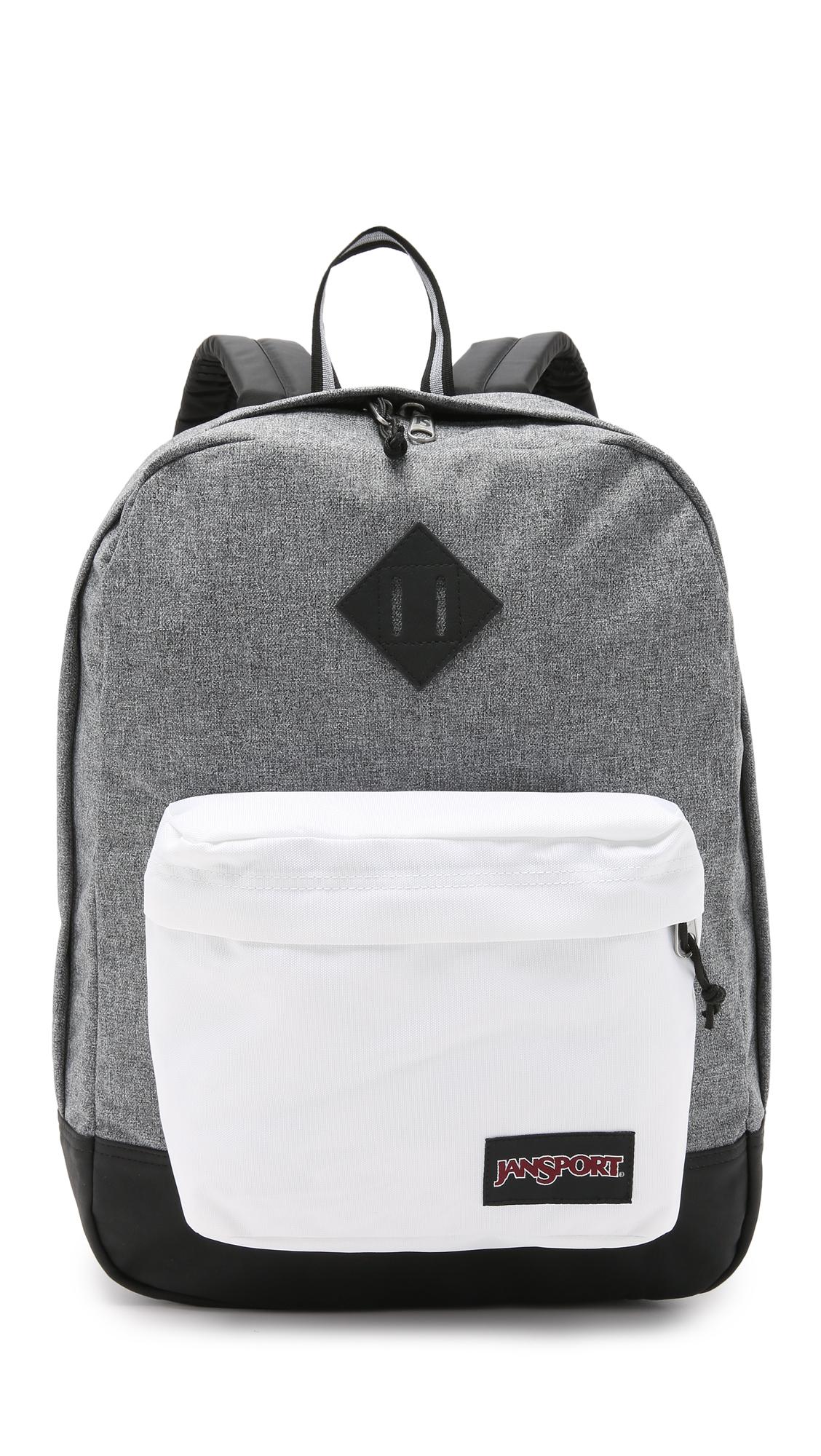 White Jansport Backpack - Crazy Backpacks