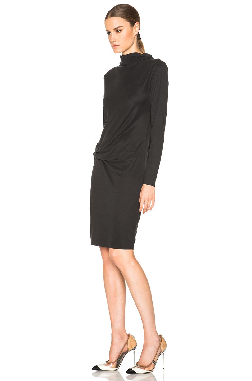 By Malene Birger Tiles Mini Dress In Black Lyst
