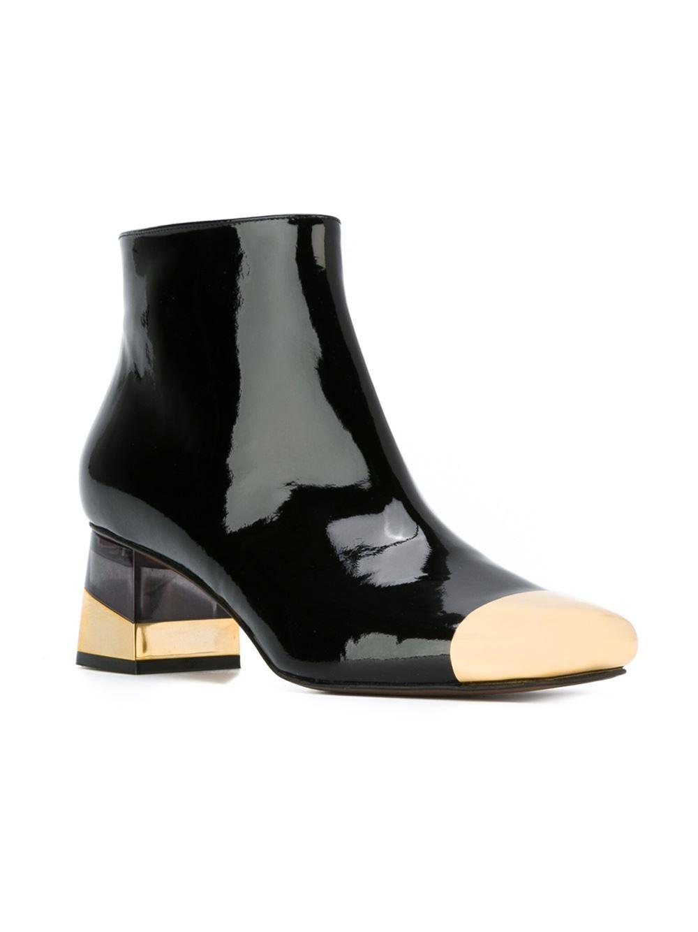 L\'autre chose Ankle Boots in Black | Lyst