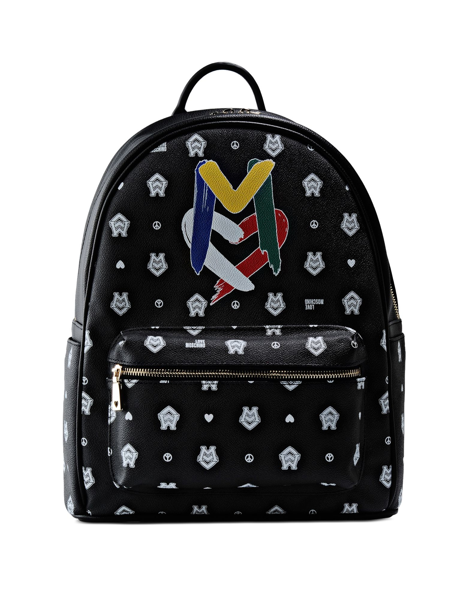 love moschino backpack in black lyst. Black Bedroom Furniture Sets. Home Design Ideas