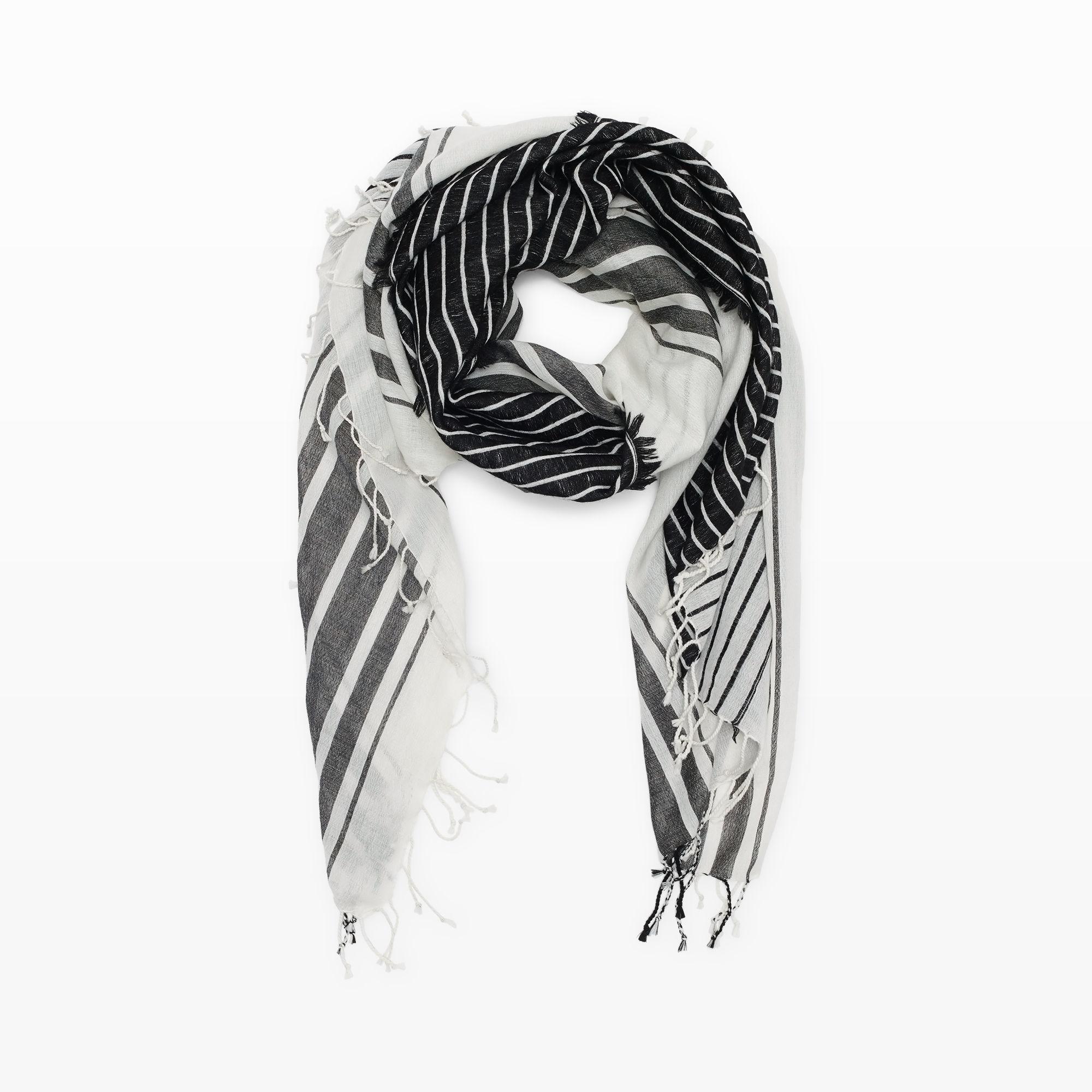 club monaco basilia scarf in black lyst