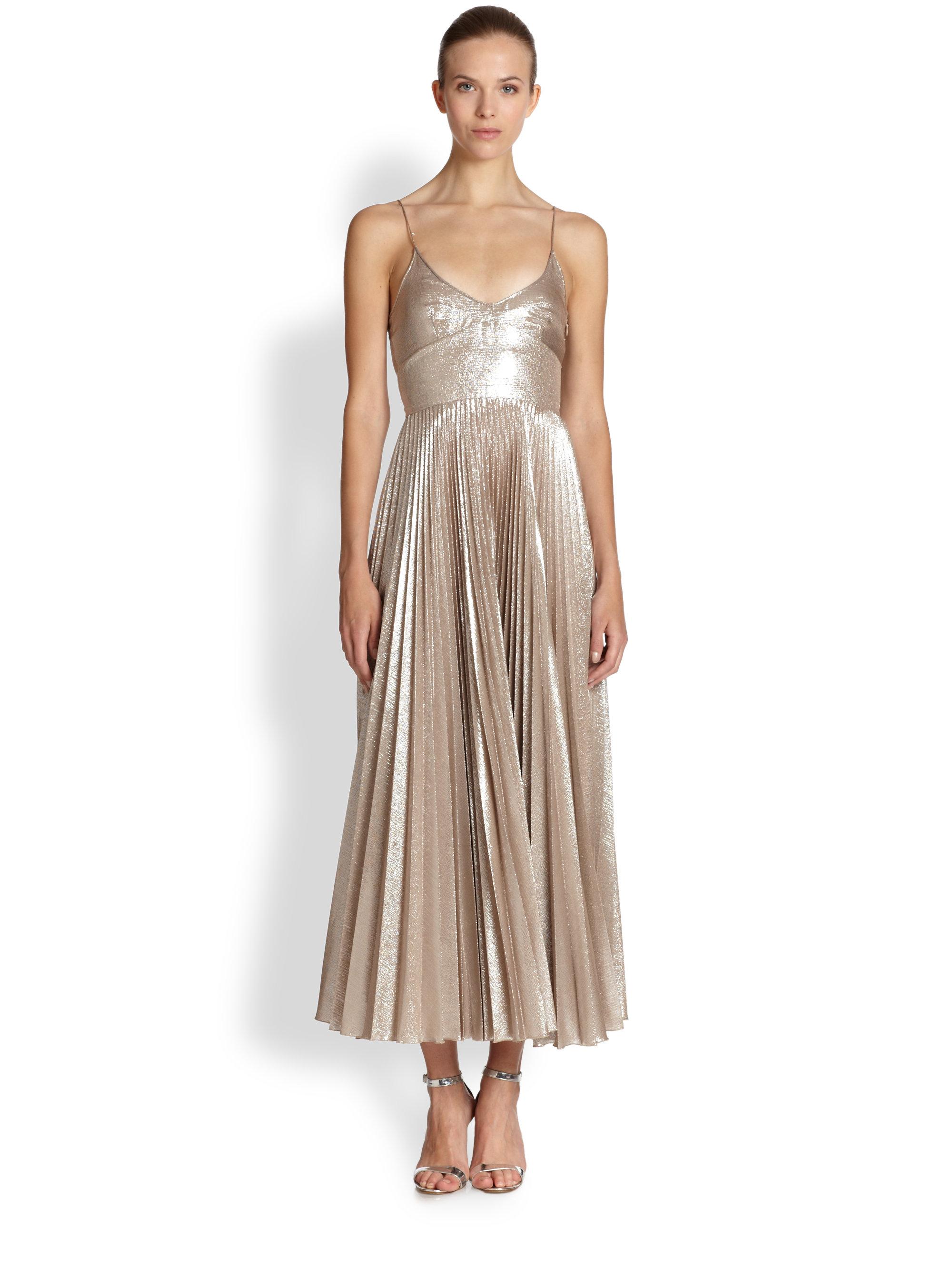 Size gold dresses