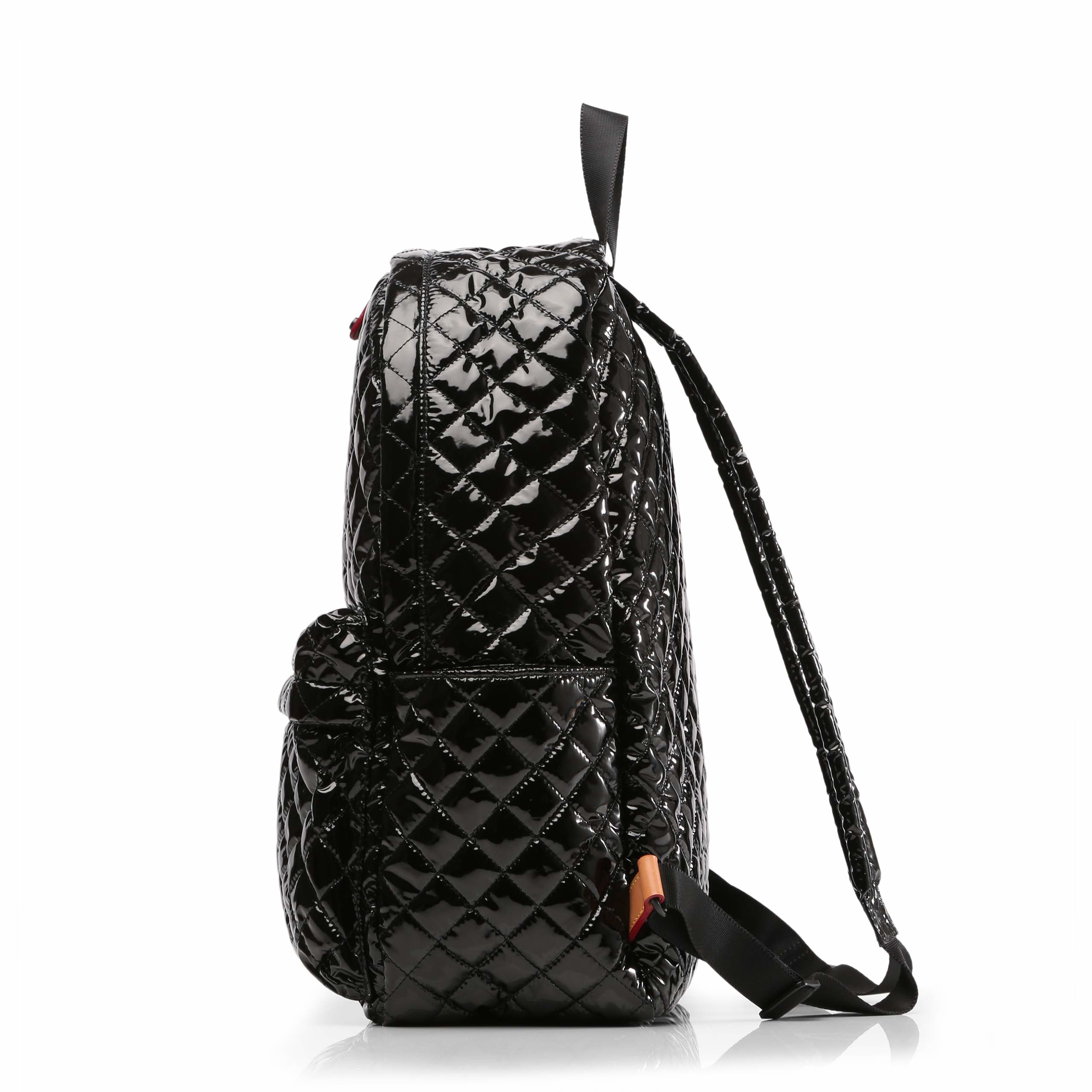 Lyst Mz Wallace Black Lacquer Metro Backpack In Black