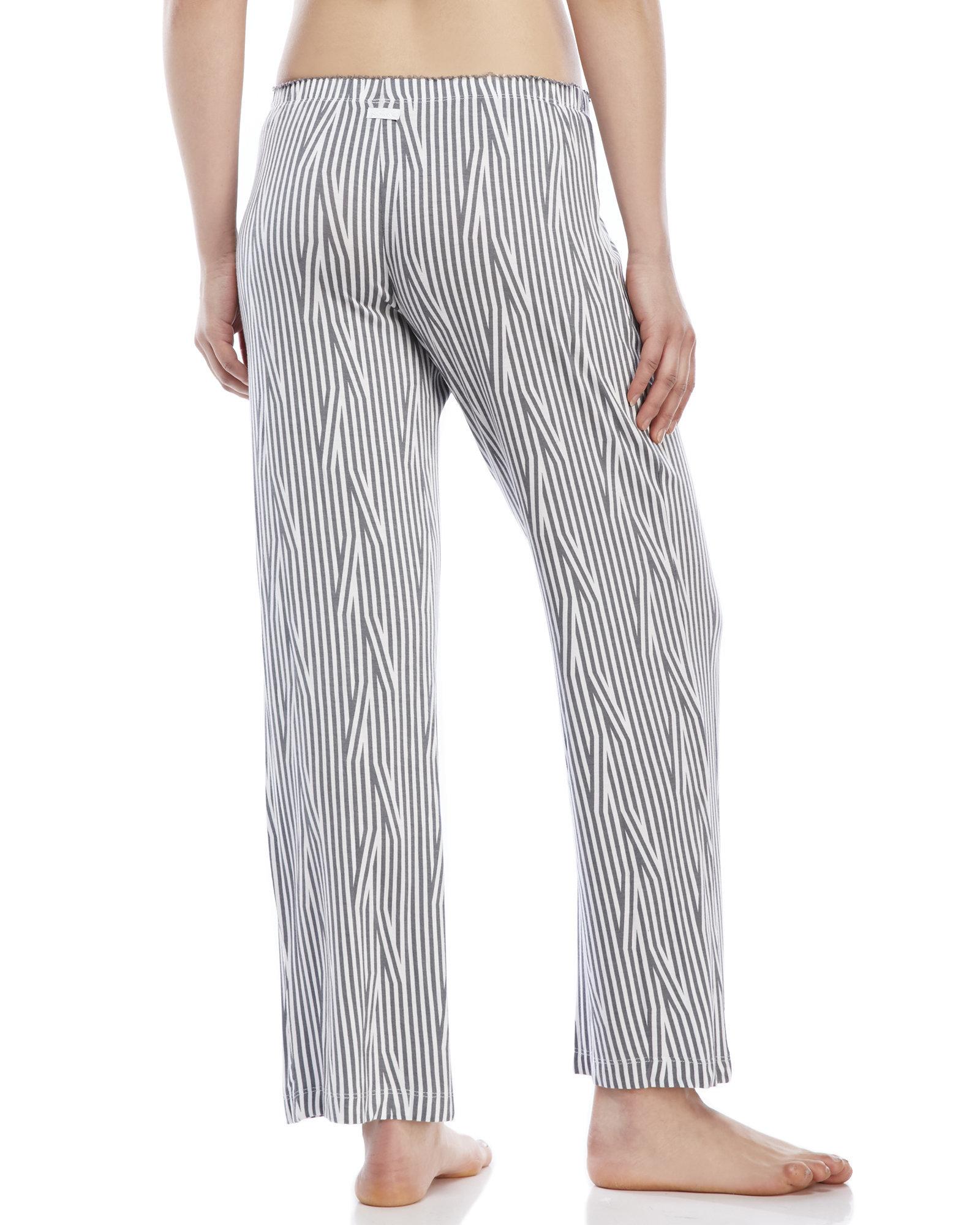Lyst - Kensie Printed Pajama Pants in Gray f20855198