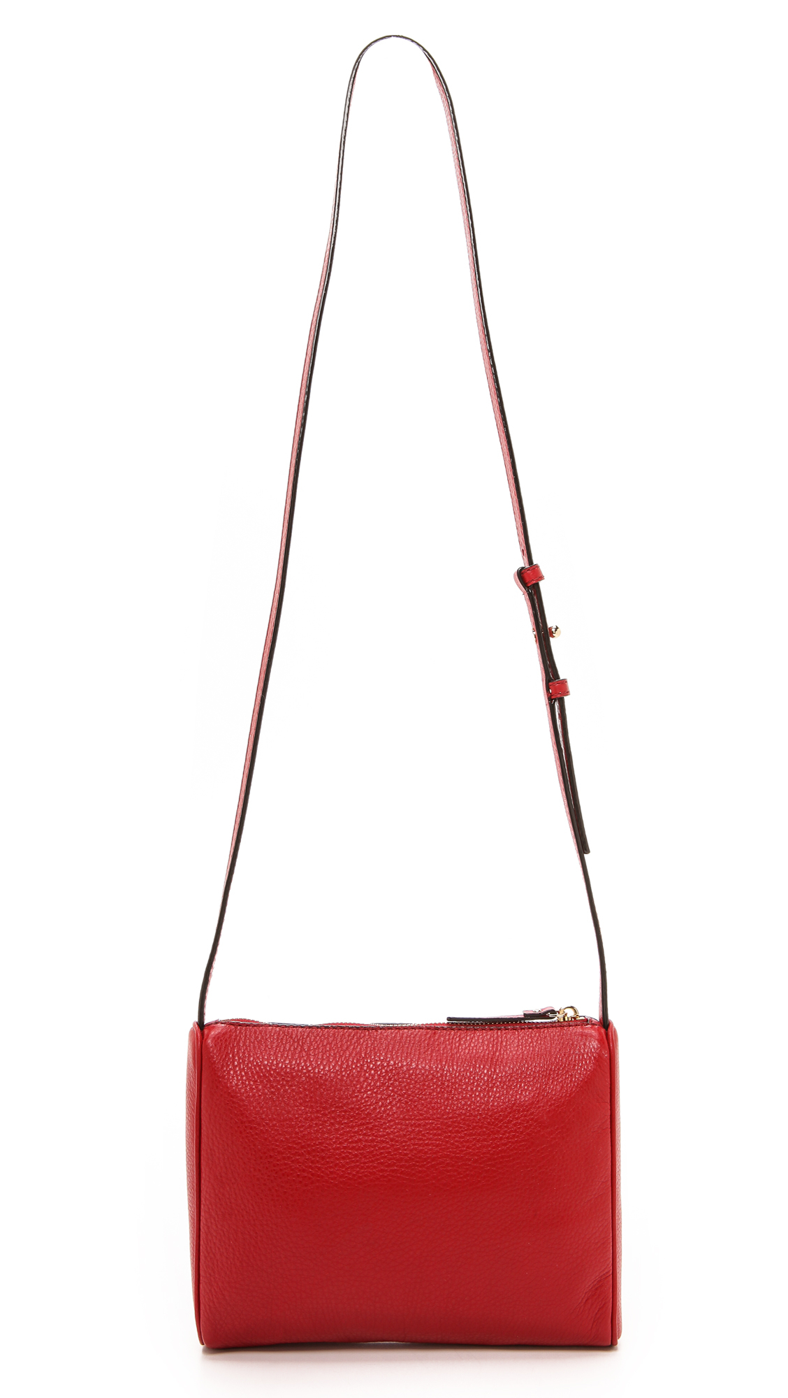 Kate Spade Cayli Cross Body Bag - Black in Red