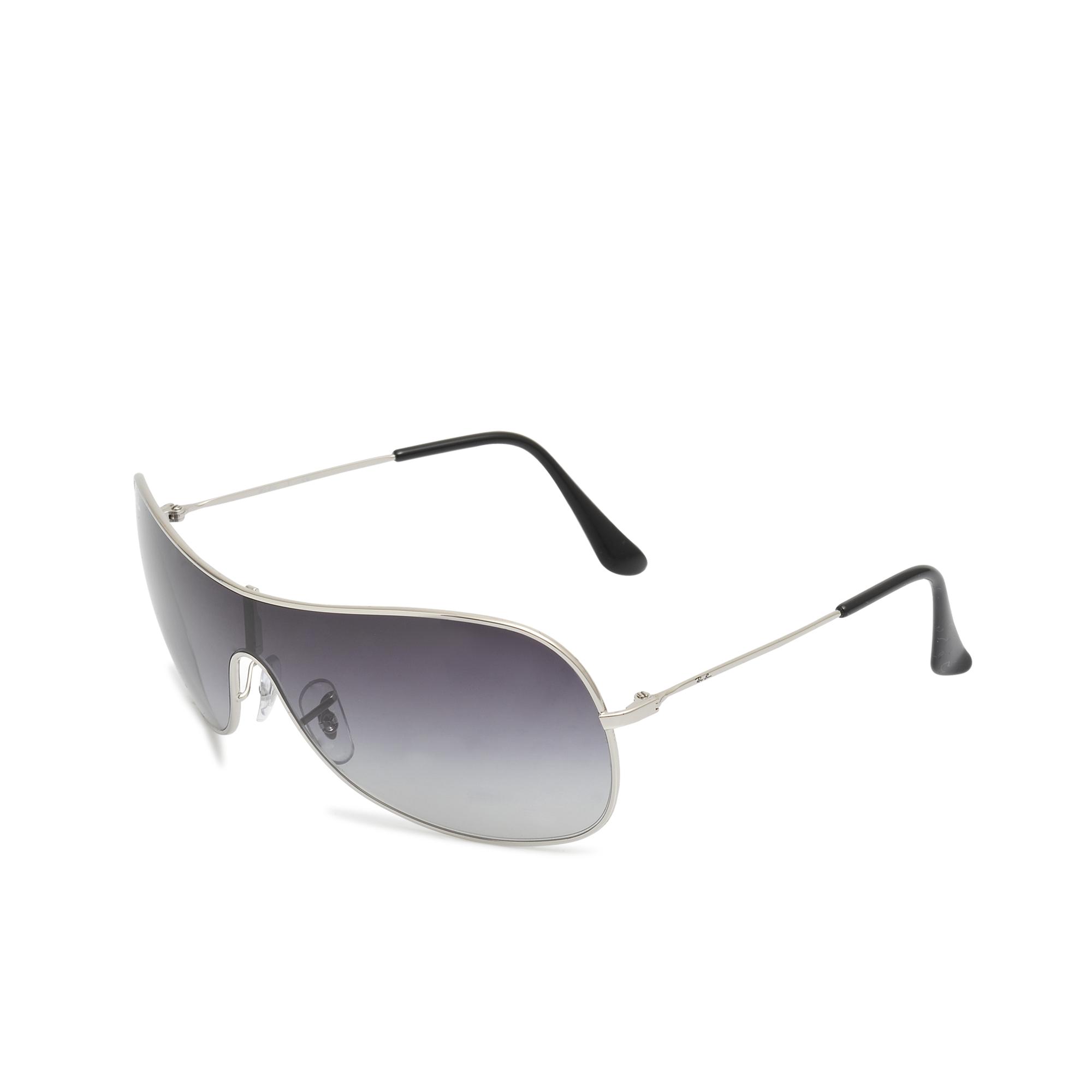 Ray-Ban Mask Sunglasses in Silver (Metallic)