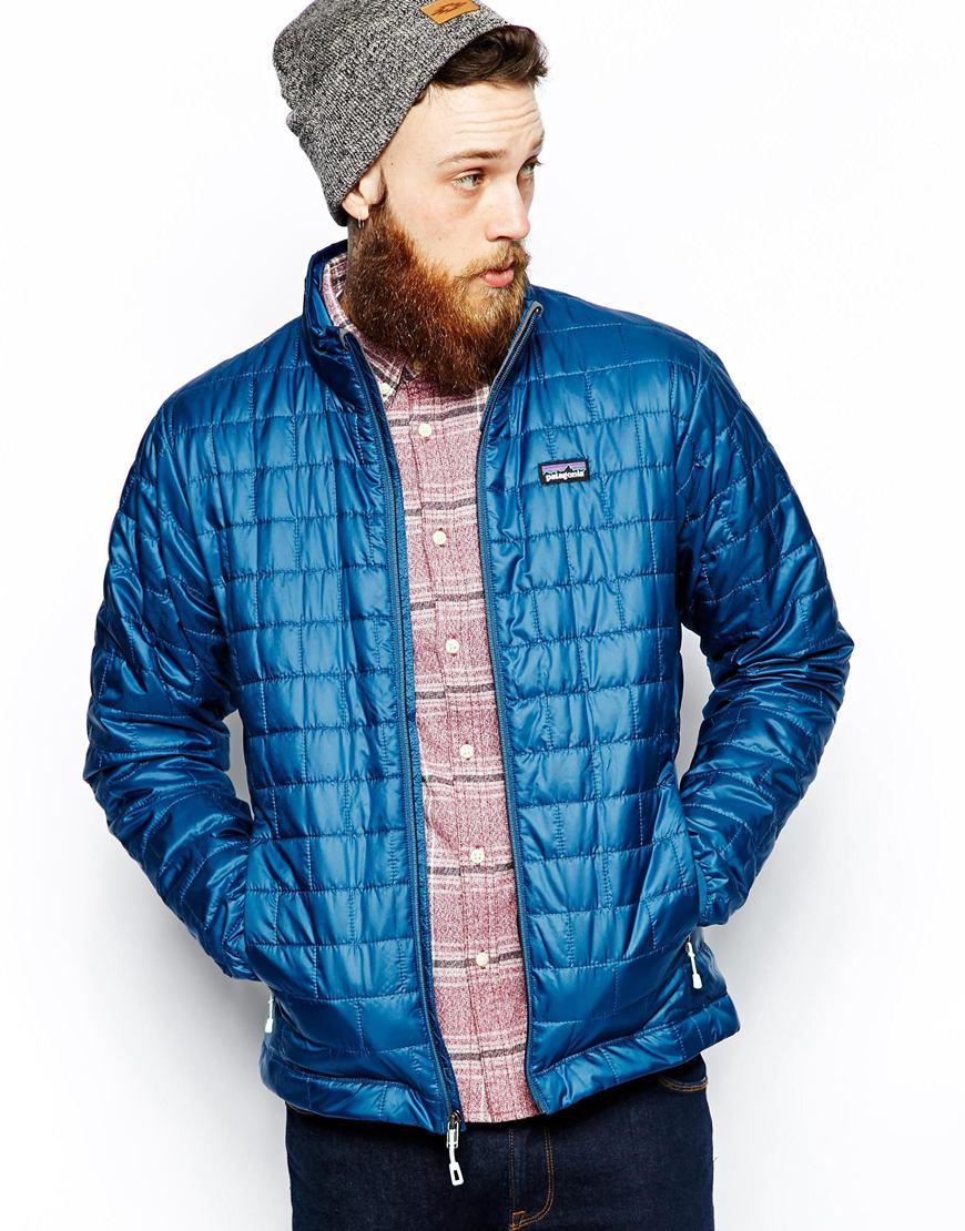 Lyst Patagonia Nano Puff Hoody In Blue For Men