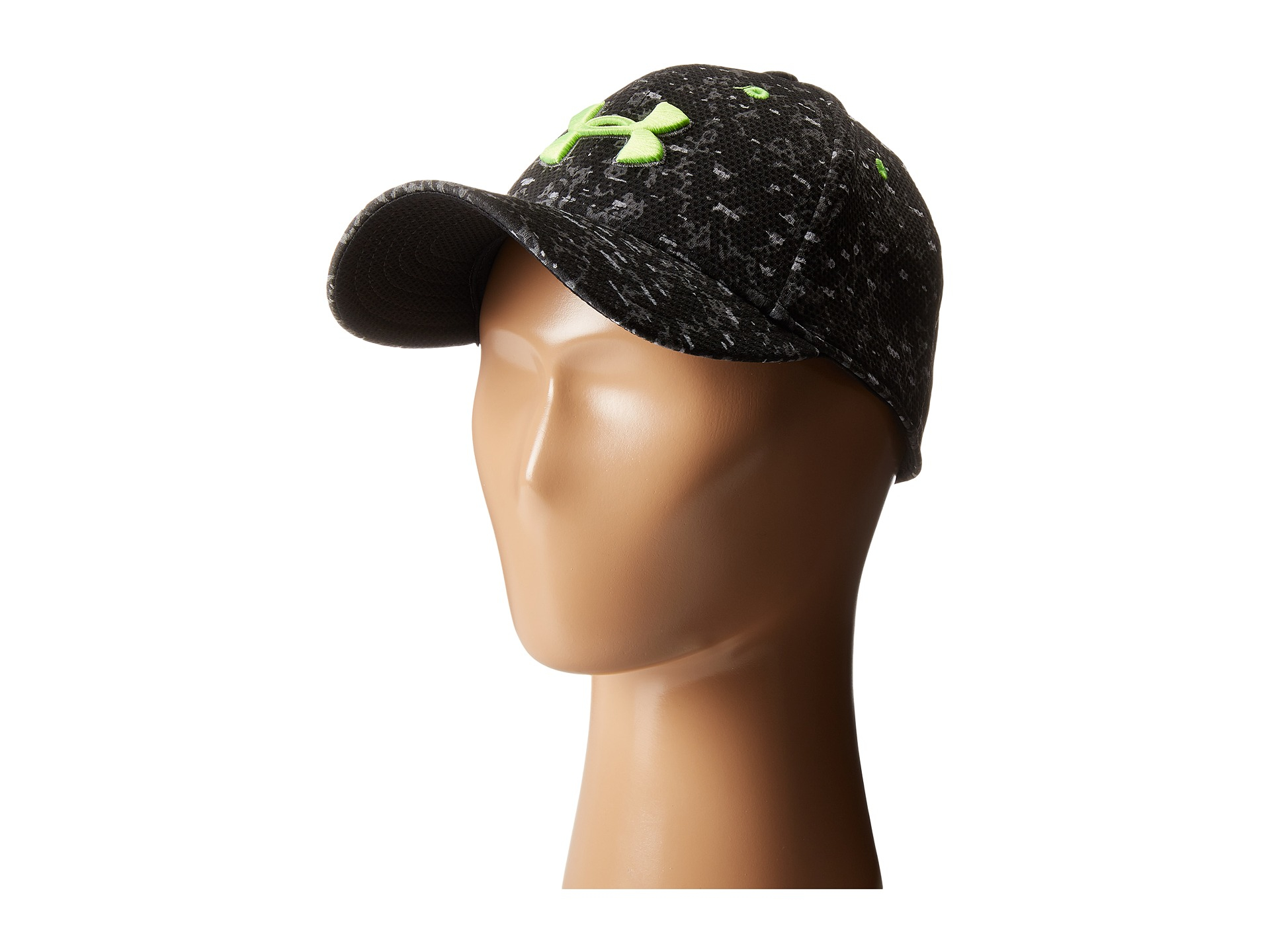 7303907a2e1 ... top quality lyst under armour ua printed blitzing cap youth in black  for men 8ac36 0a40f