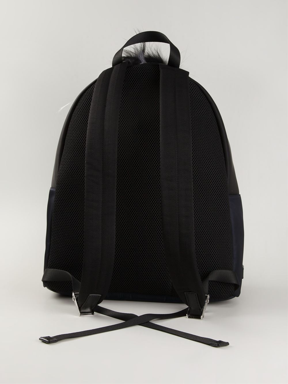 lyst fendi bag bugs backpack in blue for men