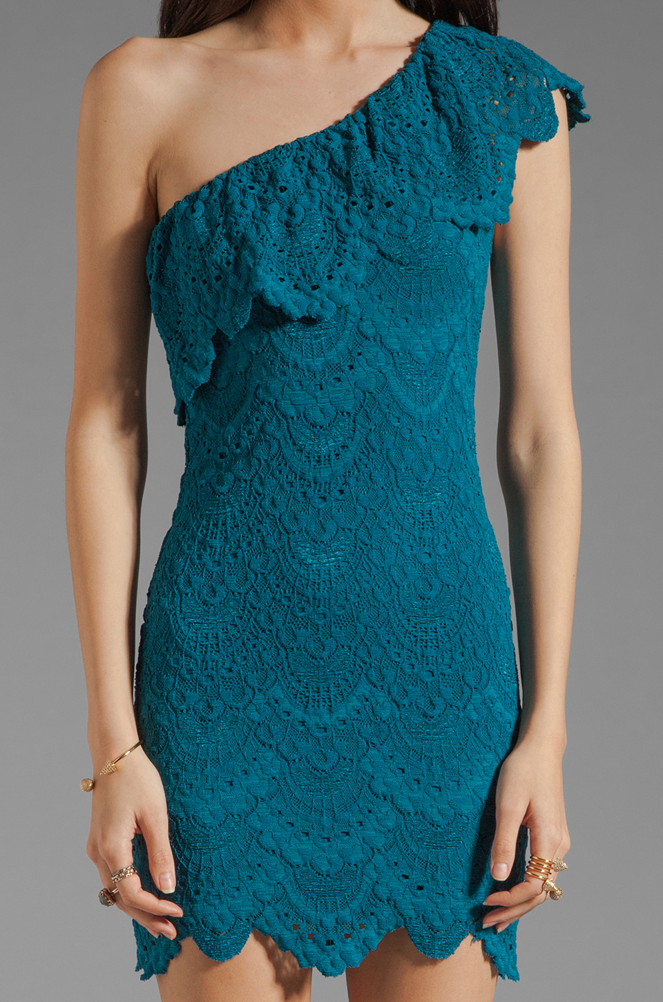 Nightcap clothing spanish lace flutter dress by hatley