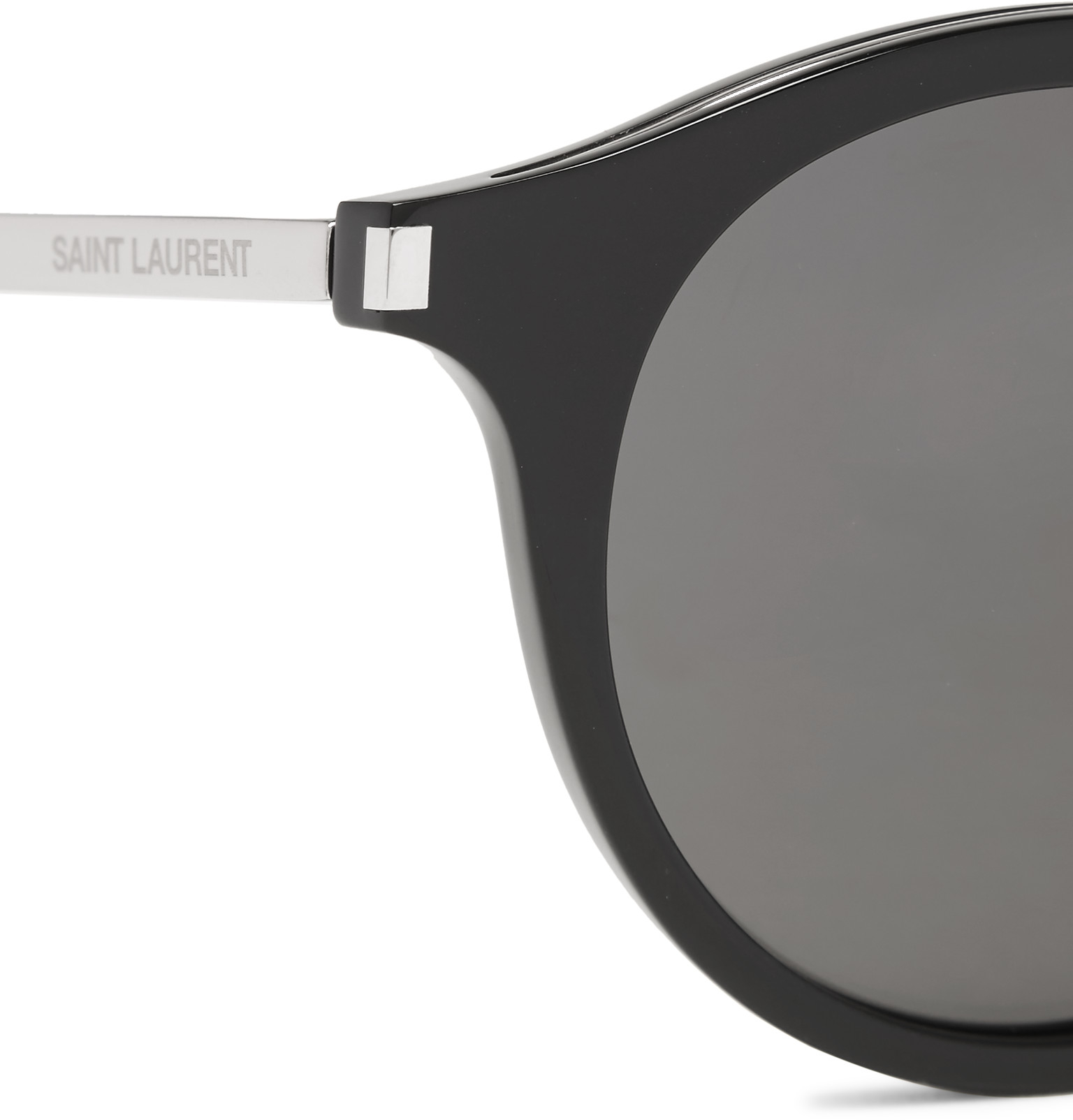 20bbedca65 Saint Laurent Round-frame Acetate Sunglasses White