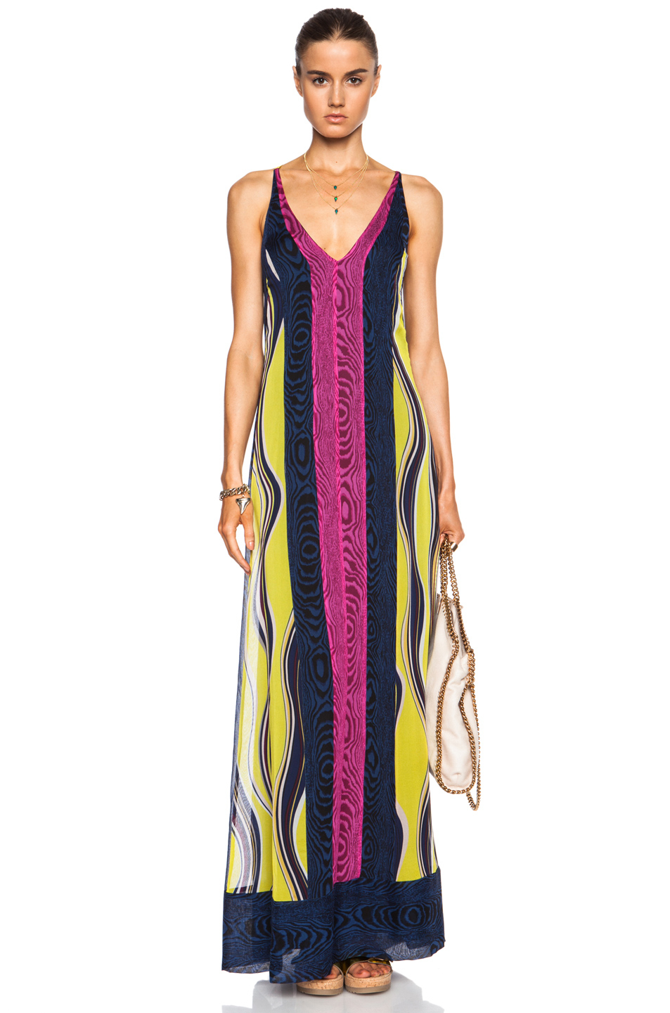 Diane Von Furstenberg Mckinley Printed Silk Maxi Dress in ...