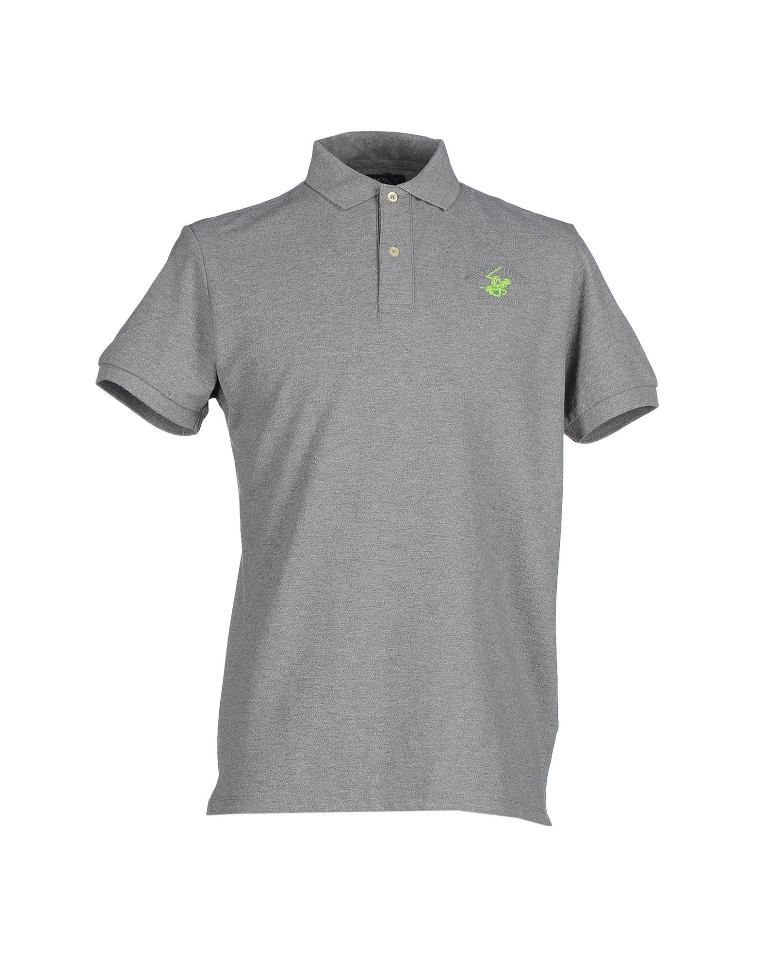 Beverly Hills Polo Club Polo Shirt In Gray For Men Grey
