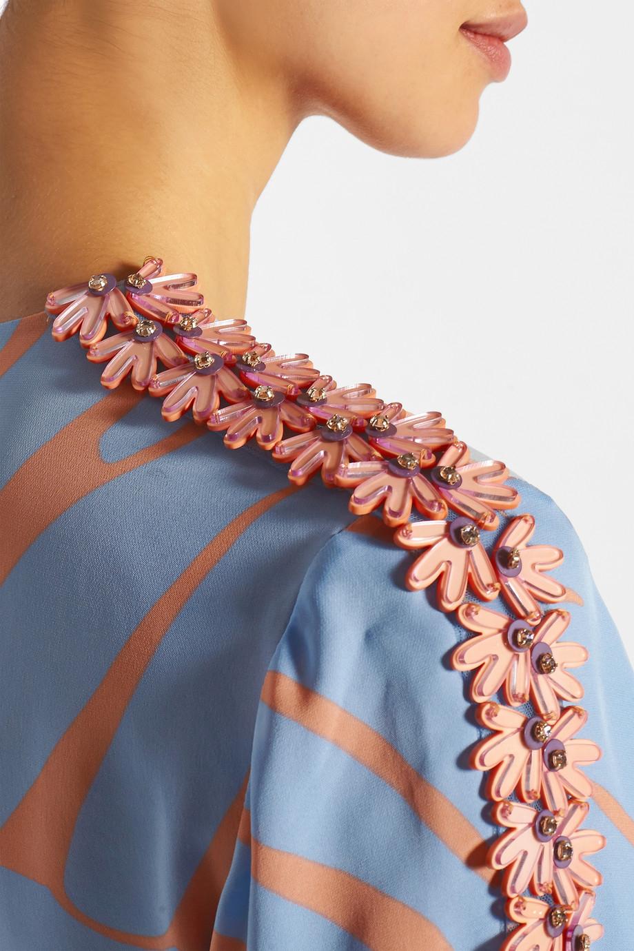 Issa silk maxi dress