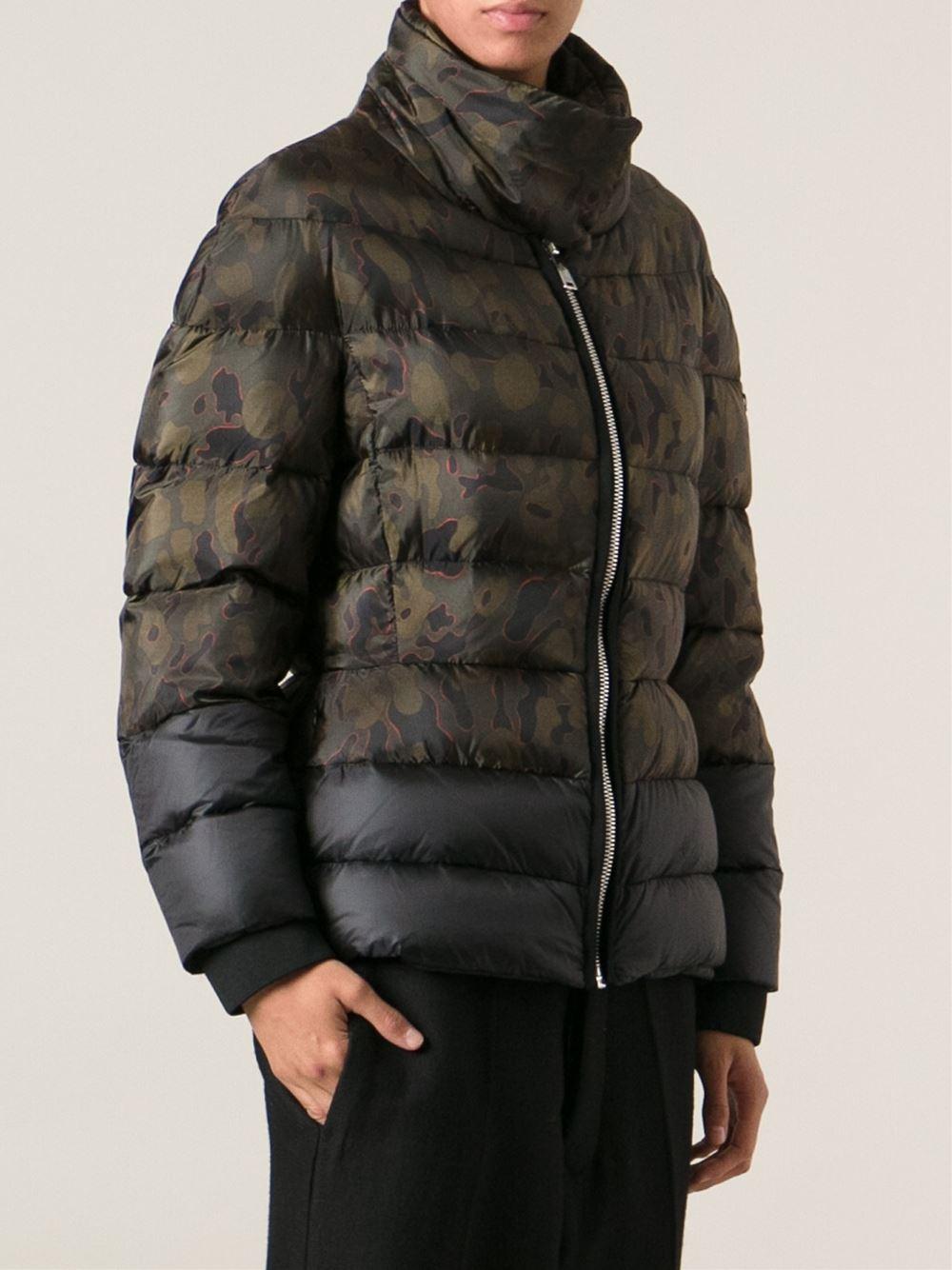 65579b23a Moncler Gamme Bleu Green Camouflage Padded Jacket for men