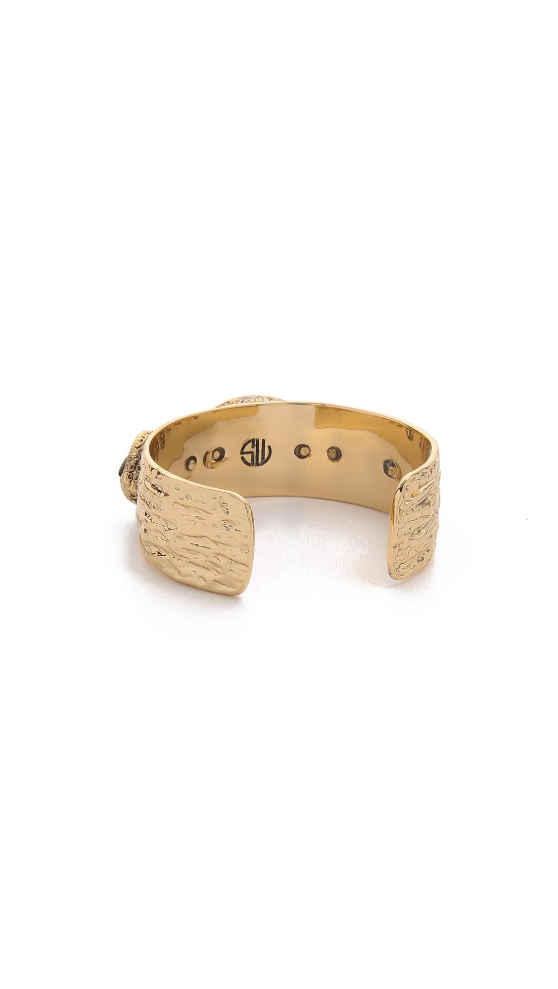 Samantha Wills The Villa Cuff Bracelet Antique Gold