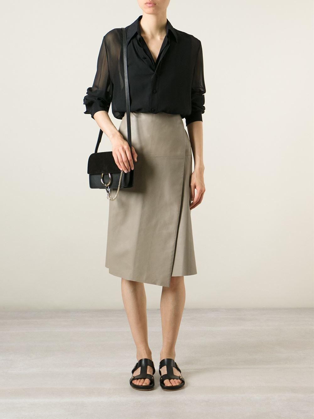 9fd4ee7c3a Chloé Black Faye Calf Leather Satchel