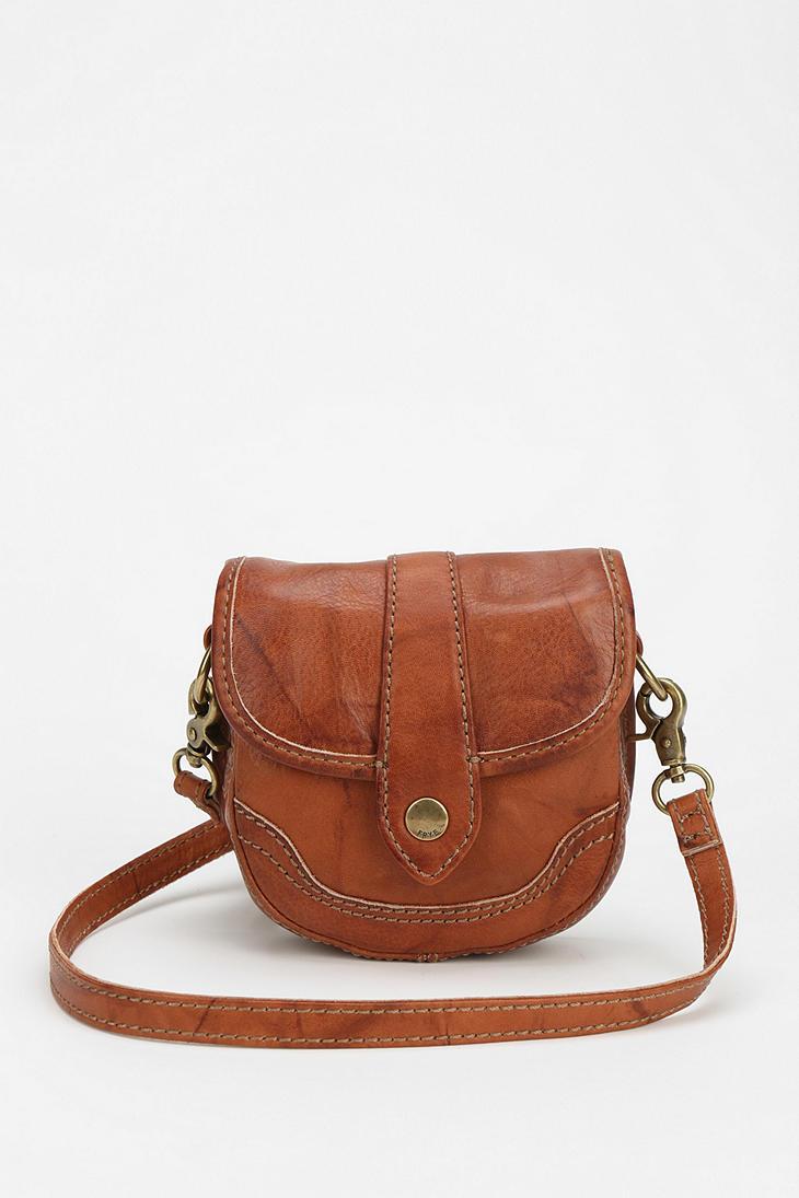 Frye Campus Mini Crossbody Bag In Brown