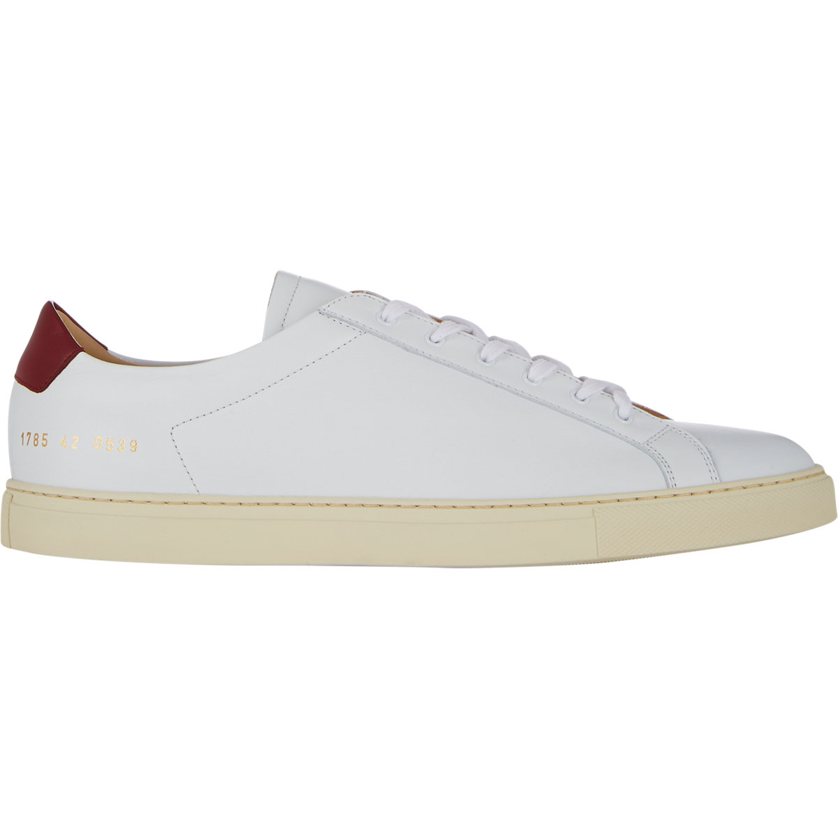 common projects achilles retro sneakers in white for men lyst. Black Bedroom Furniture Sets. Home Design Ideas