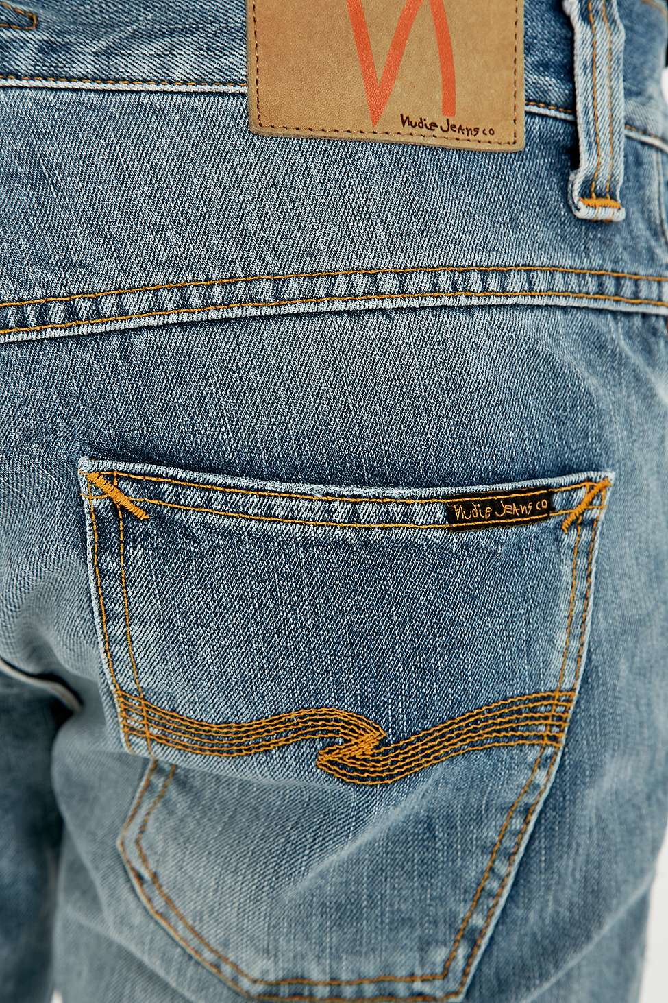 Nudie Jeans Denim Grim Tim 22 Months Ripped Slim Fit Jeans in Indigo (Blue) for Men