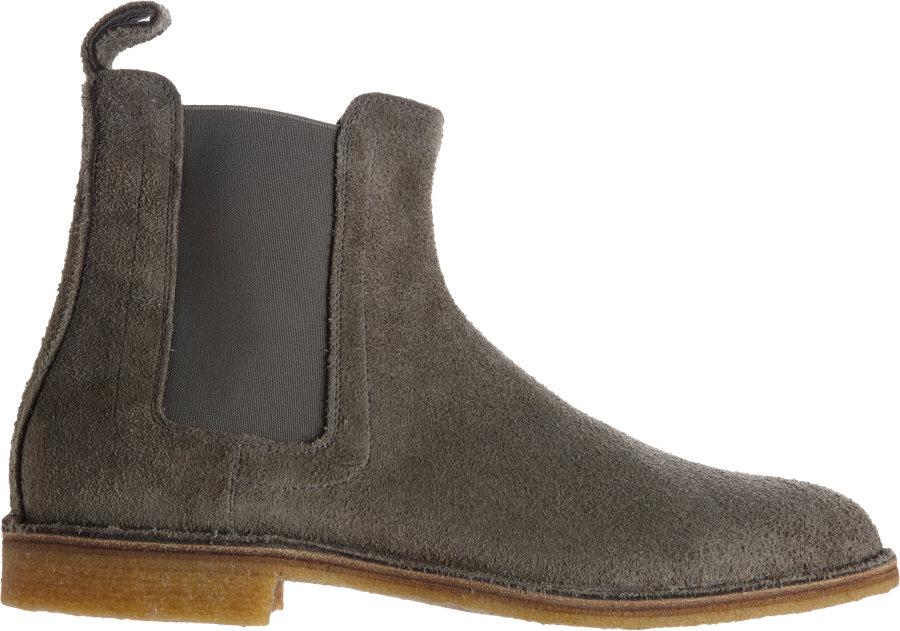 4fa1ecd1160 Bottega Veneta Chelsea Boot in Gray for Men - Lyst