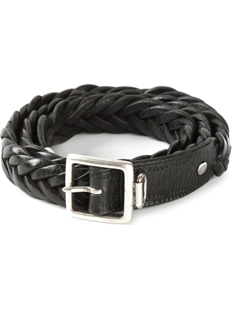 braided belt - Black Golden Goose qciwaxzV