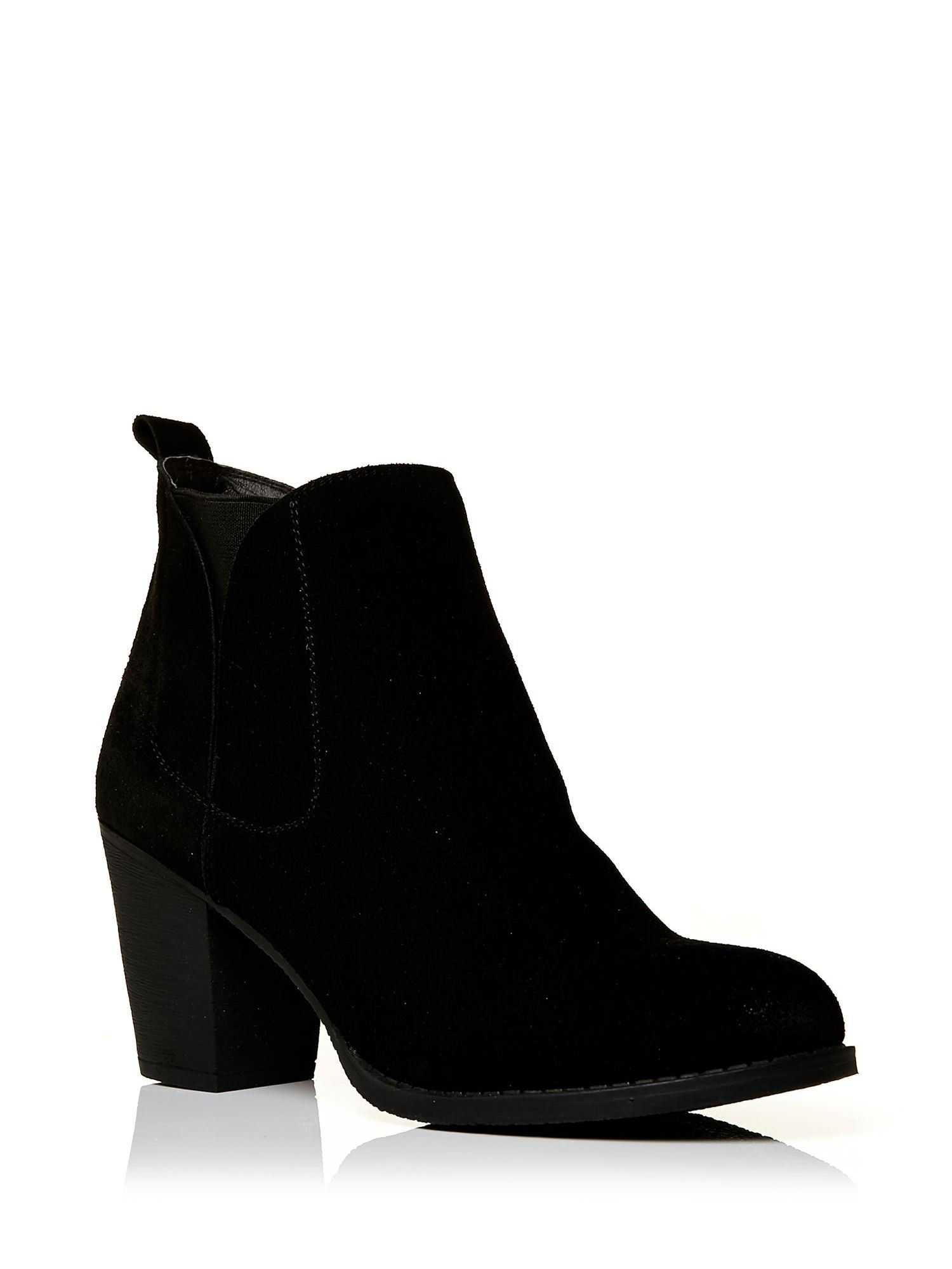 Moda In Pelle Benecias Medium Casual Short Boots in Black